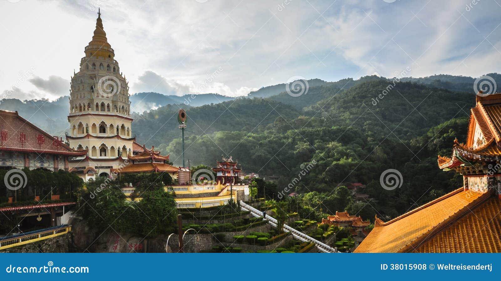 Tempel i George Town, Penang, Malaysia