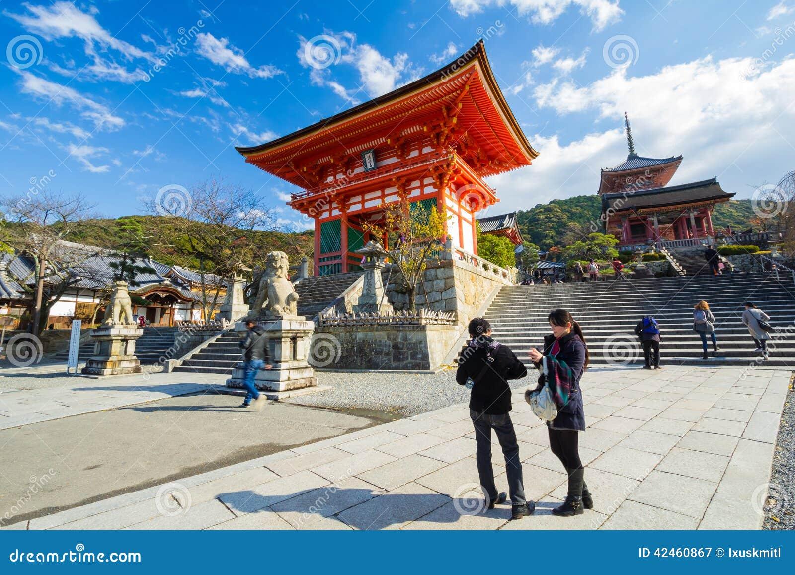 Tempel Kiyomizu Dera in Kyoto, Japan