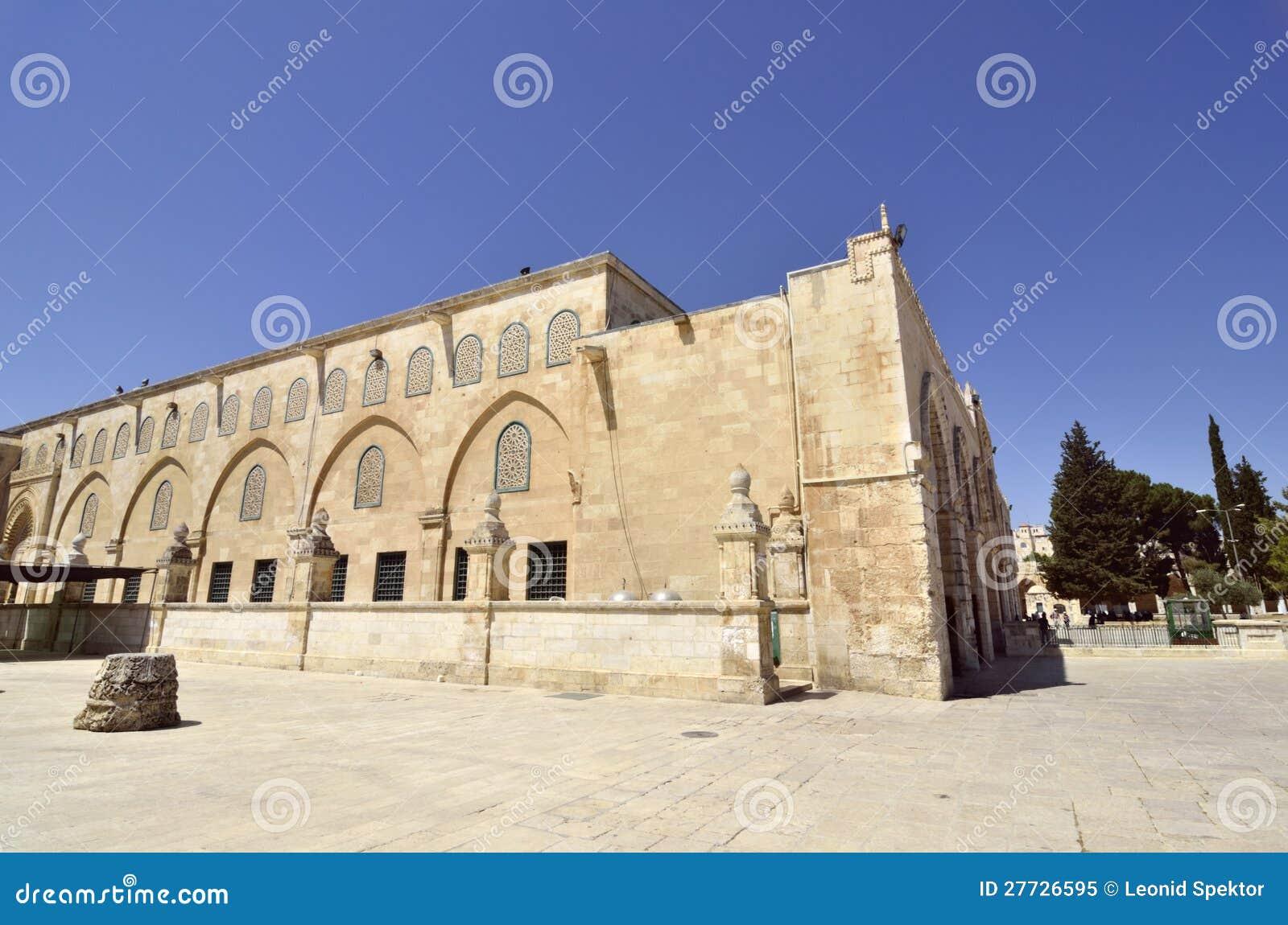 Tempel-Montierung in Jerusalem.