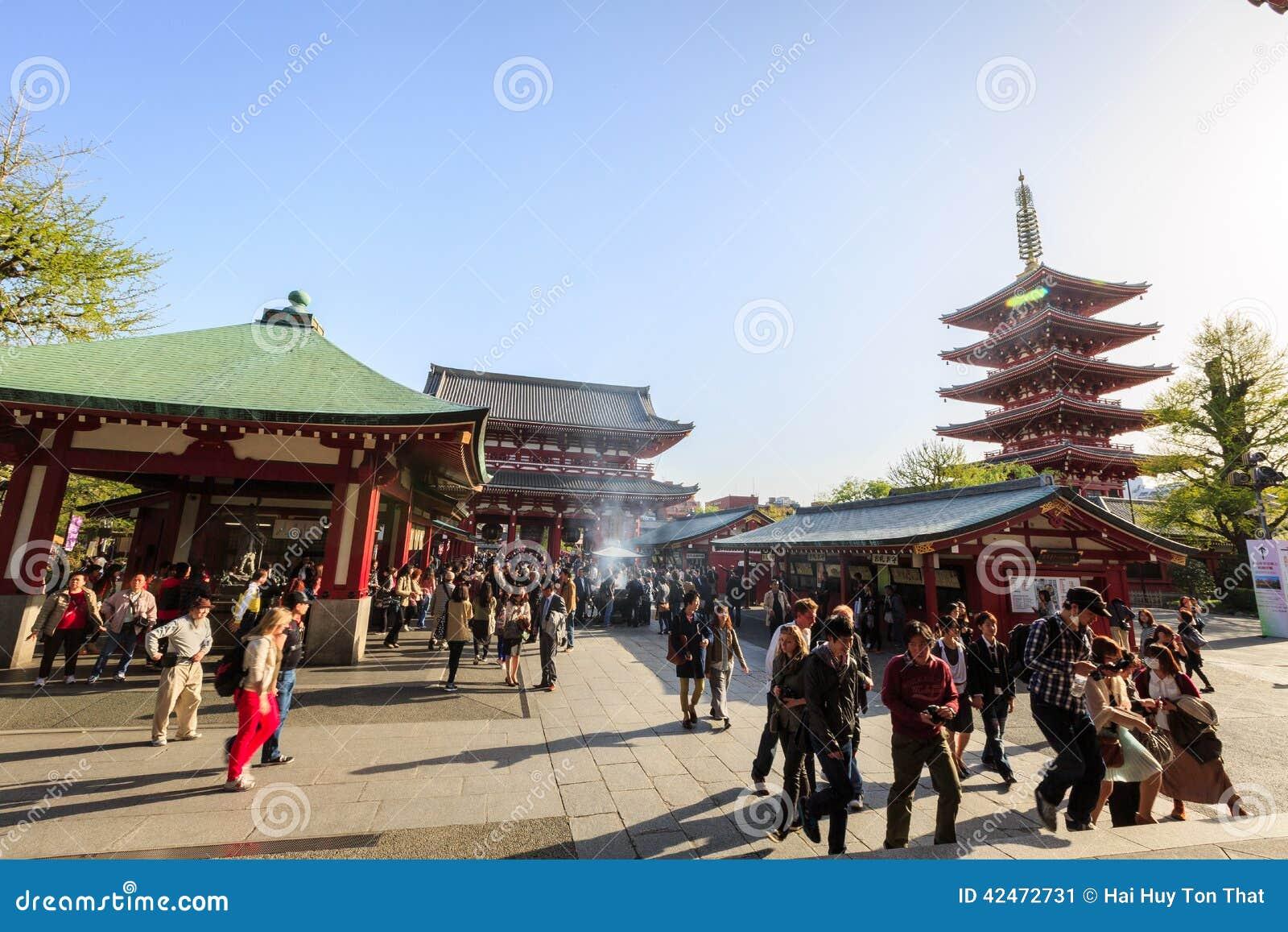 Tempel Senso-ji in Tokyo