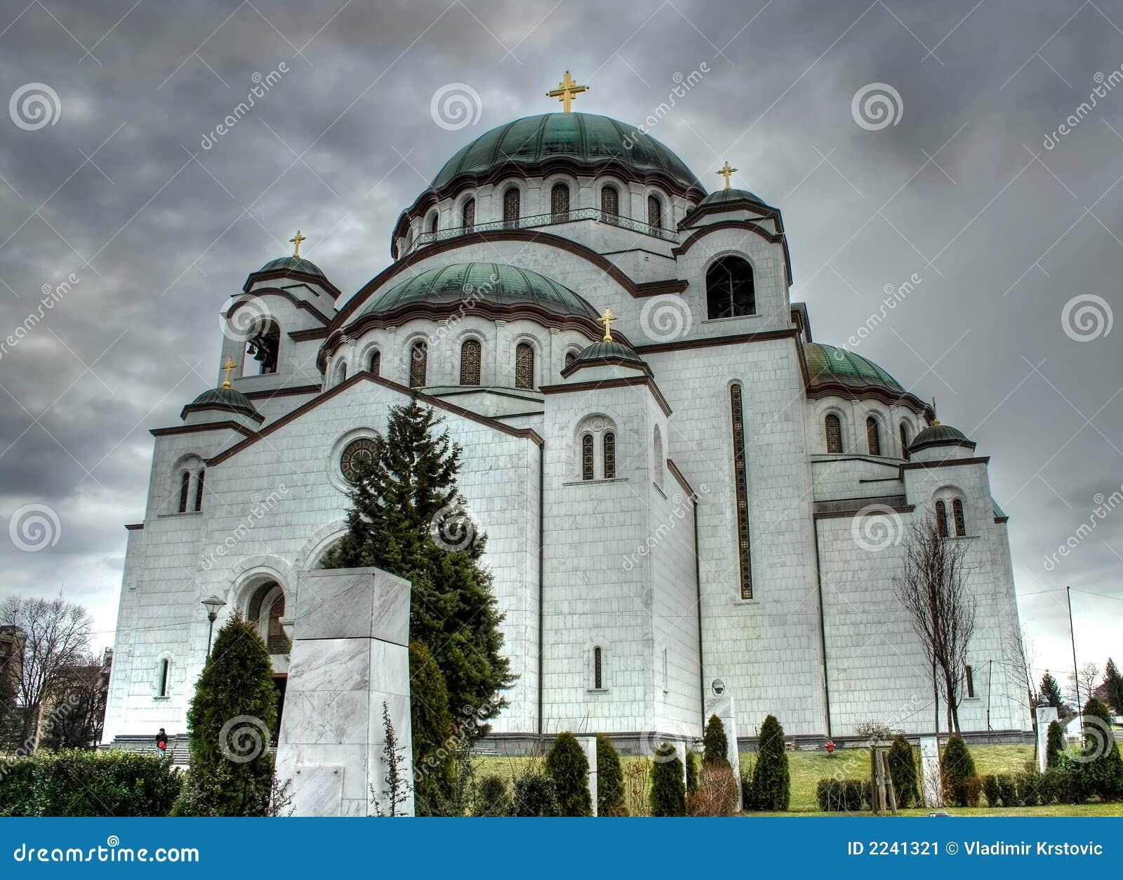 Tempel Str.-Sava, Belgrad, Serbien