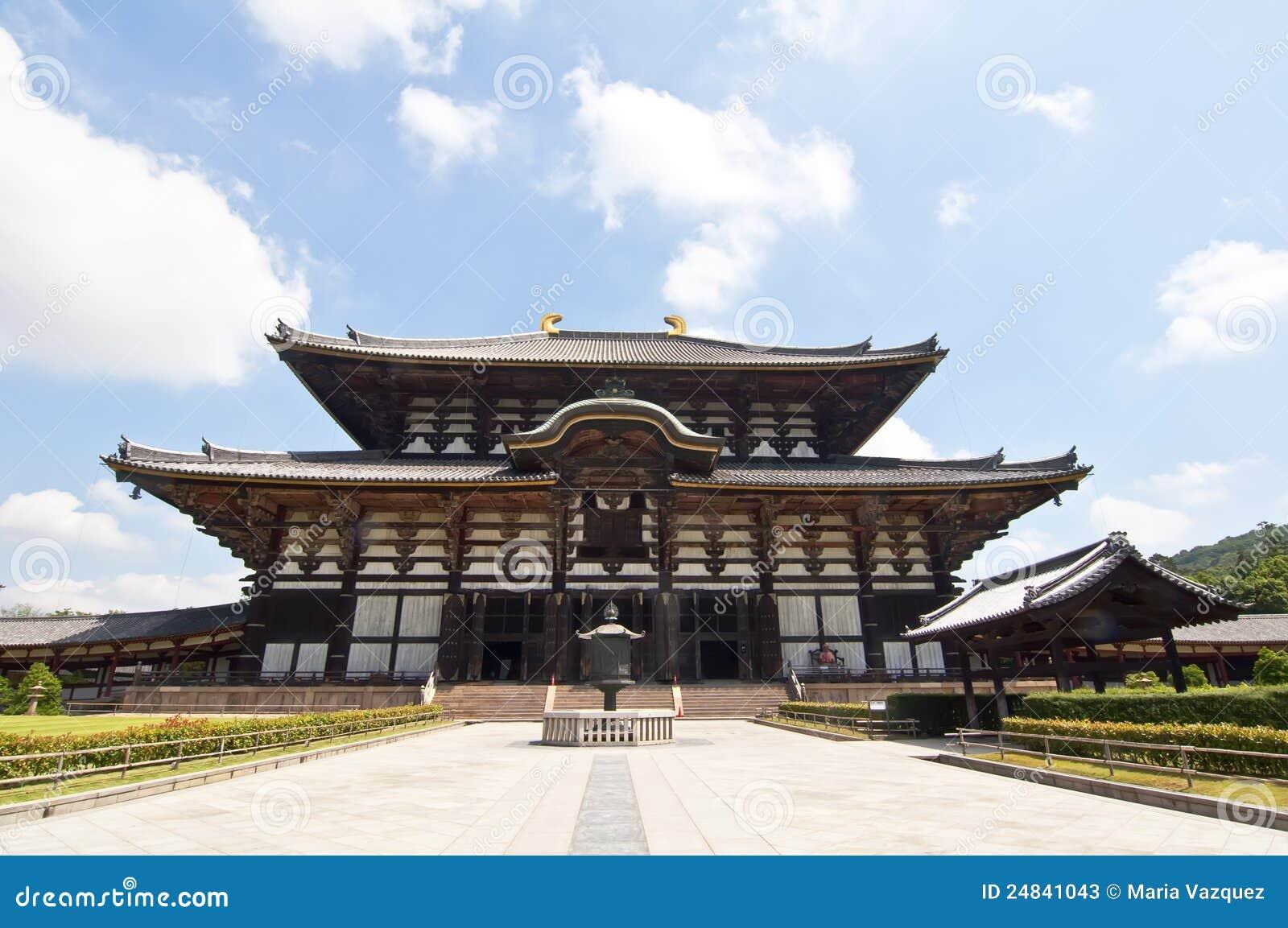 Tempel Todai -todai-ji van Nara, Japan