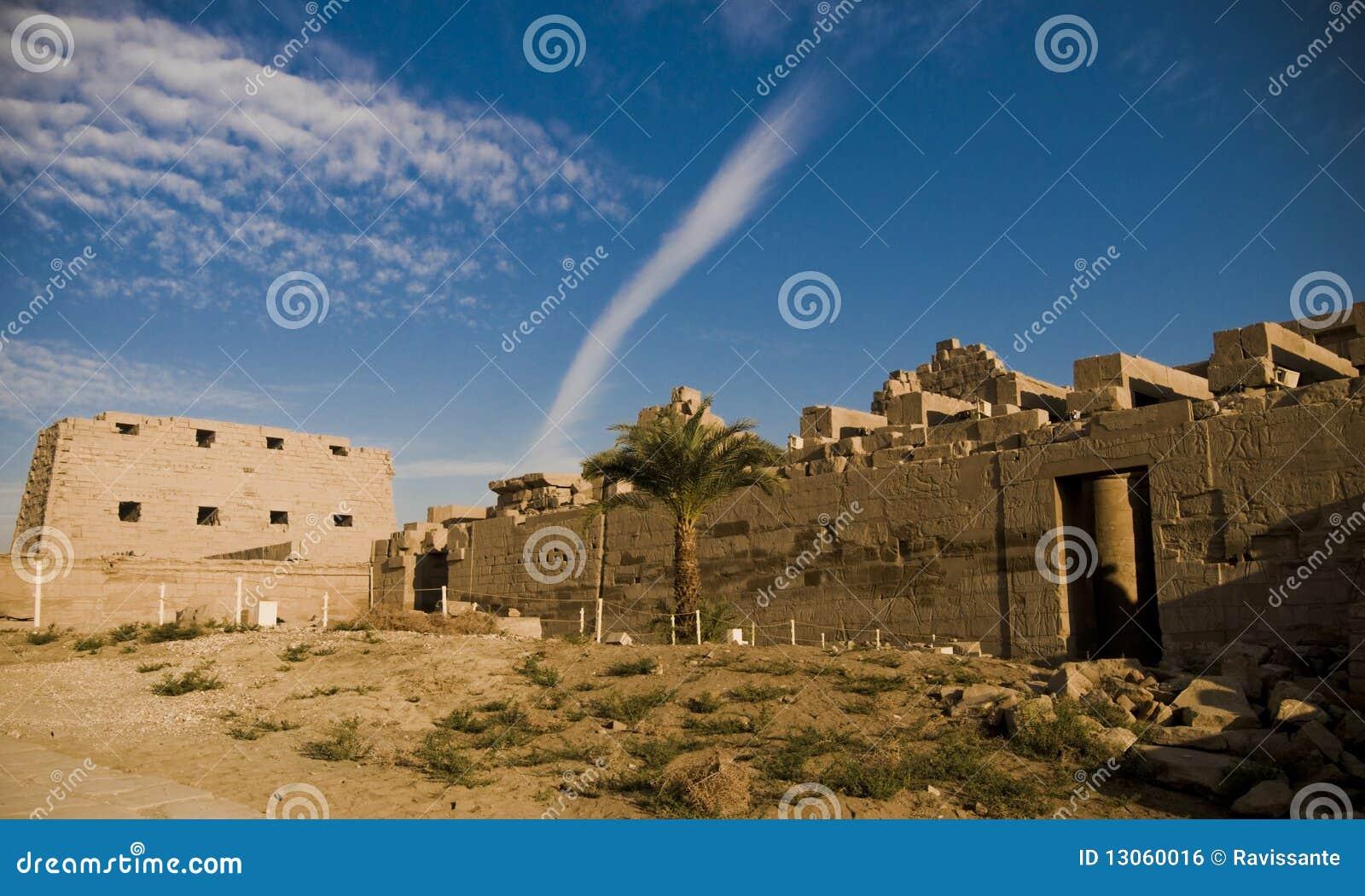 Tempel van Amun, Karnak Tempel, Egypte.