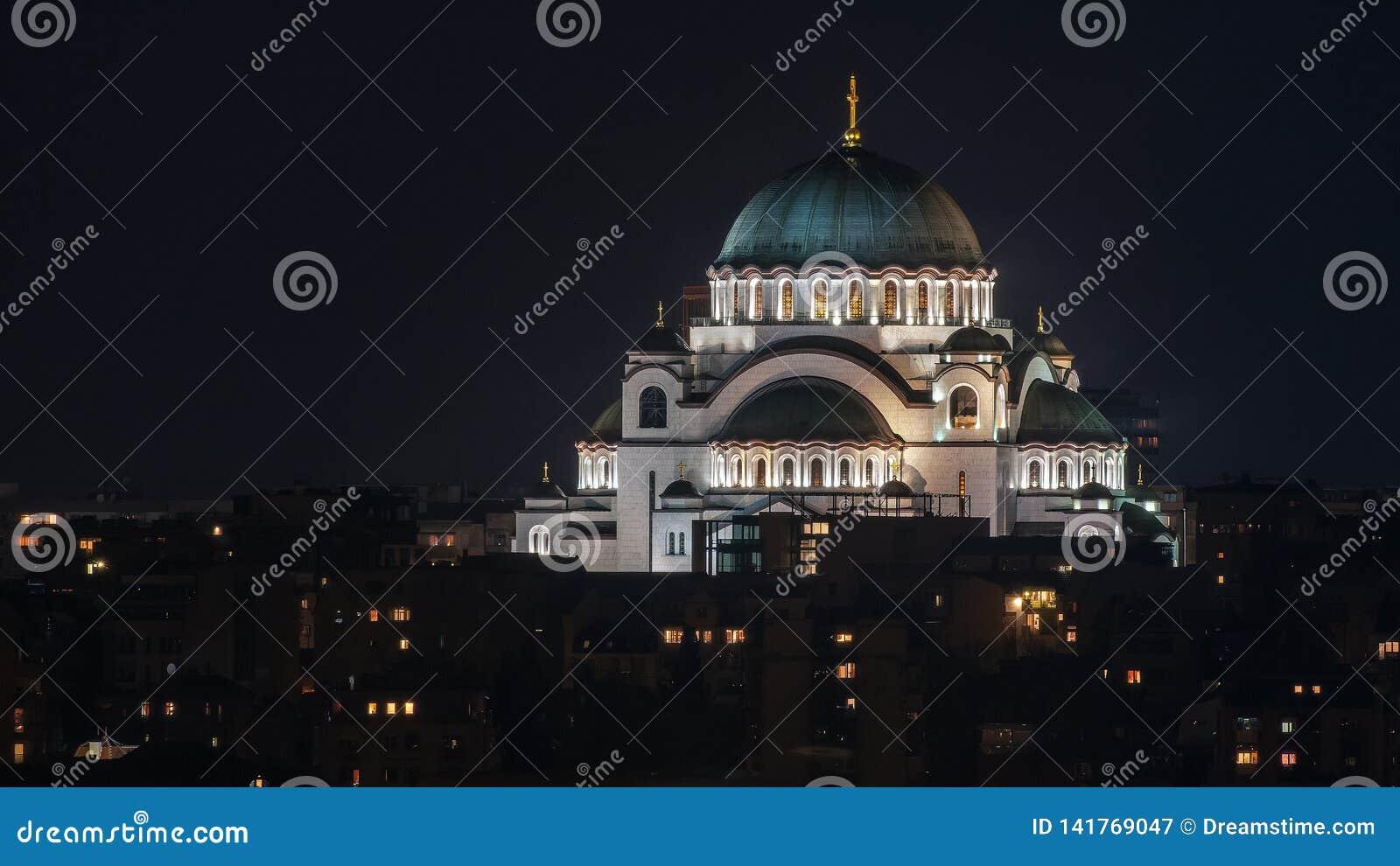 Tempel van Heilige Sava, Belgrado, Servië