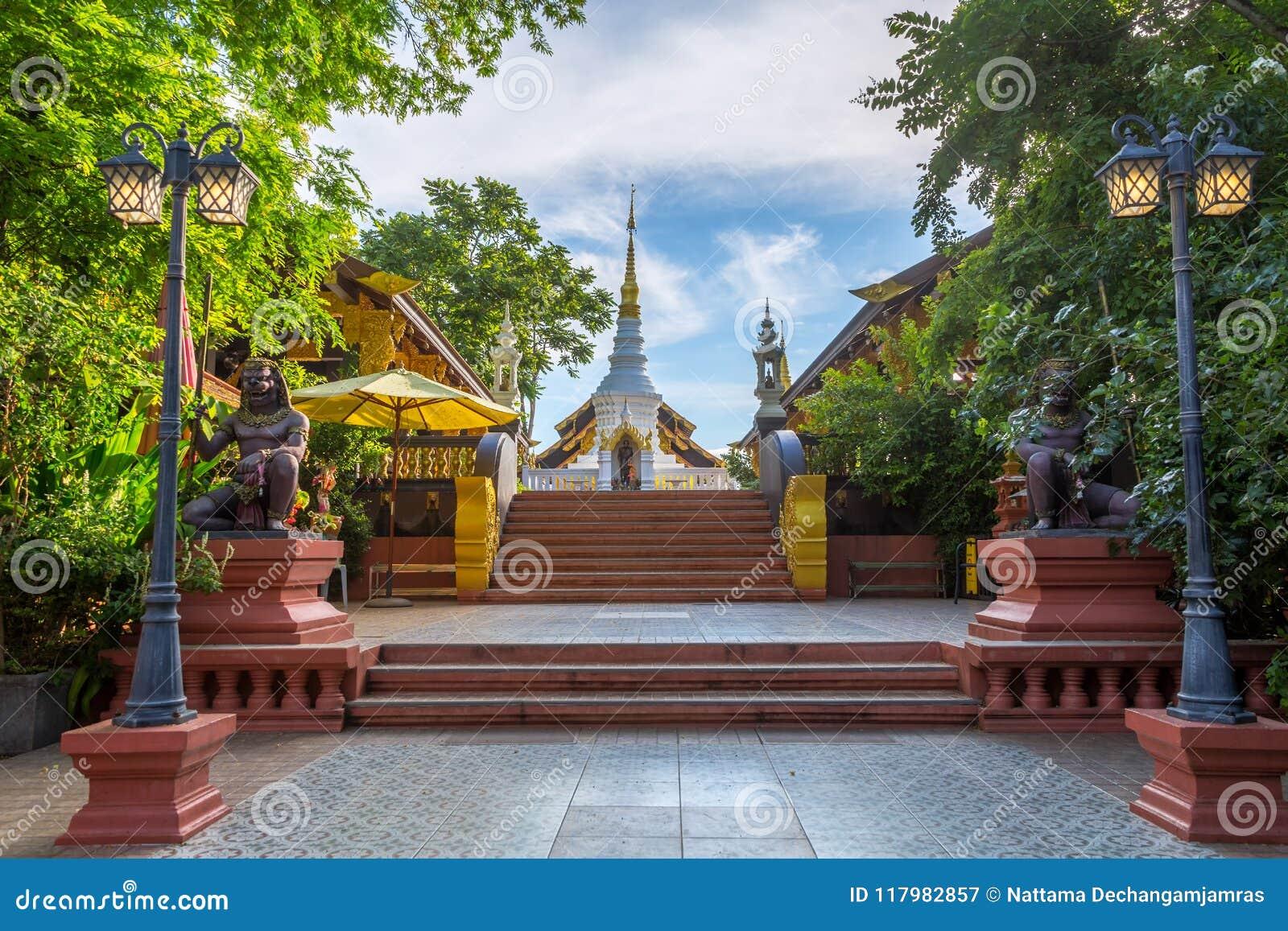 Tempel Wat Pra That Doi Pra Chan Mae Tha