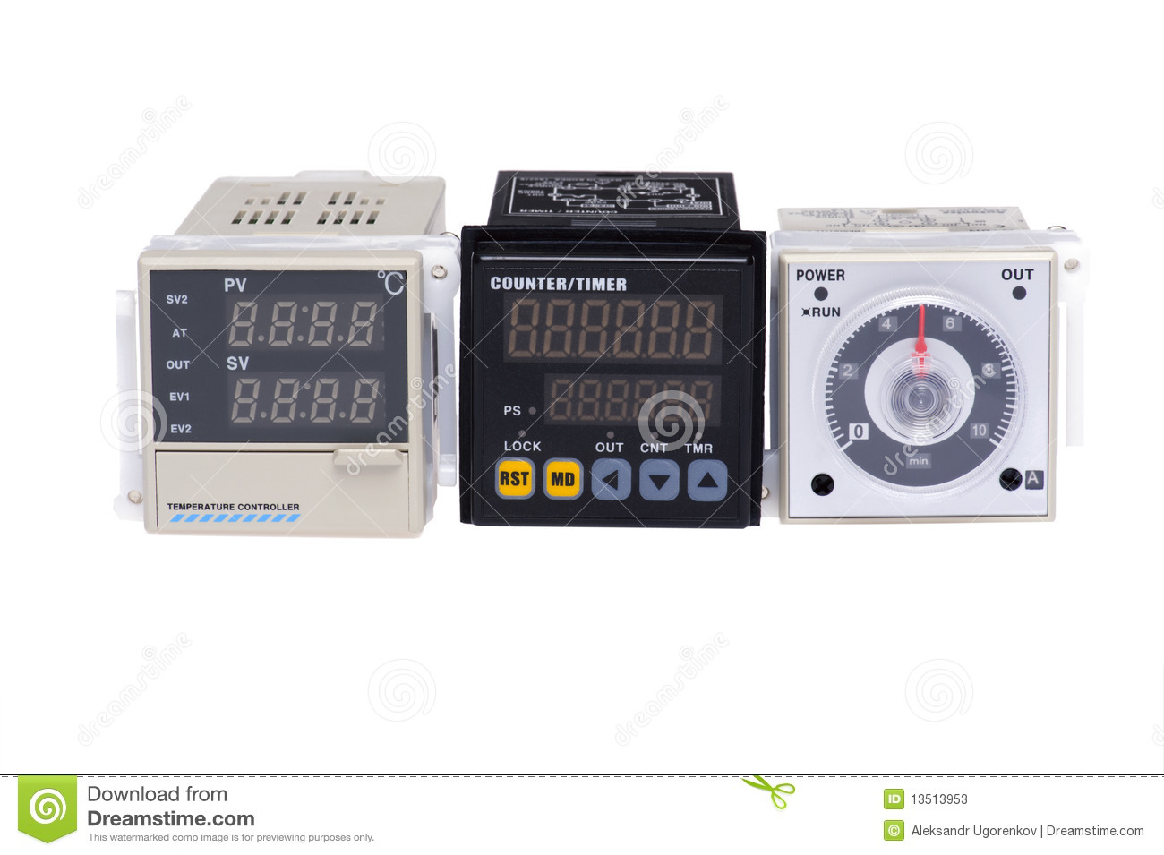 Temperature Controller Stock Photos Image: 13513953 #81A229