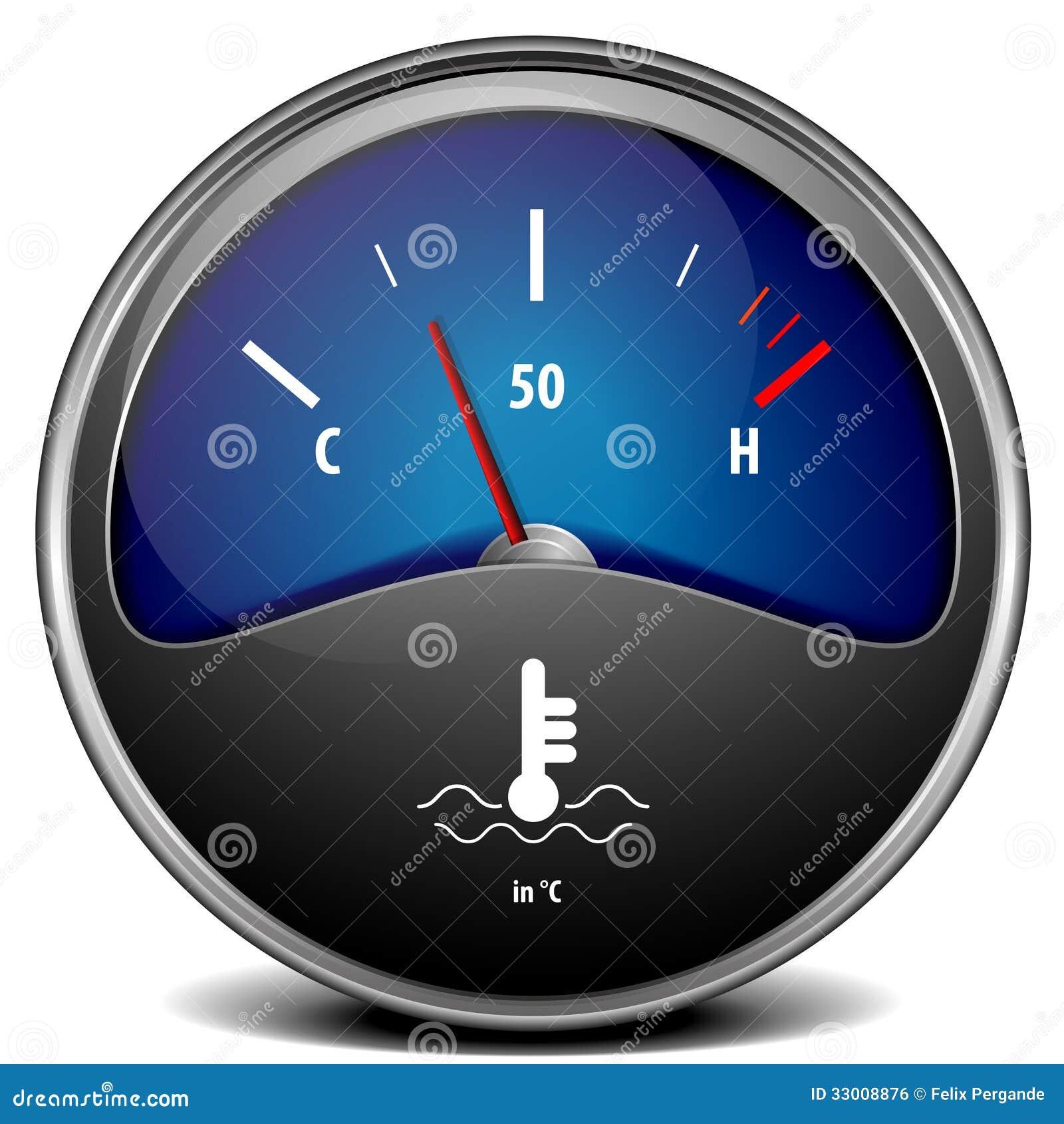 Van Clipart Temperature Gauge Roya...