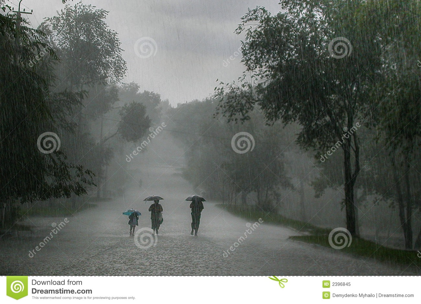Tempestad de la lluvia