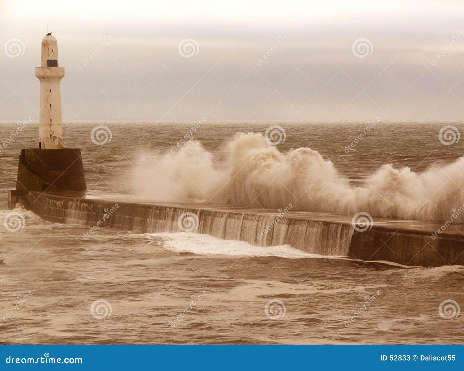 Tempestade do quebra-mar