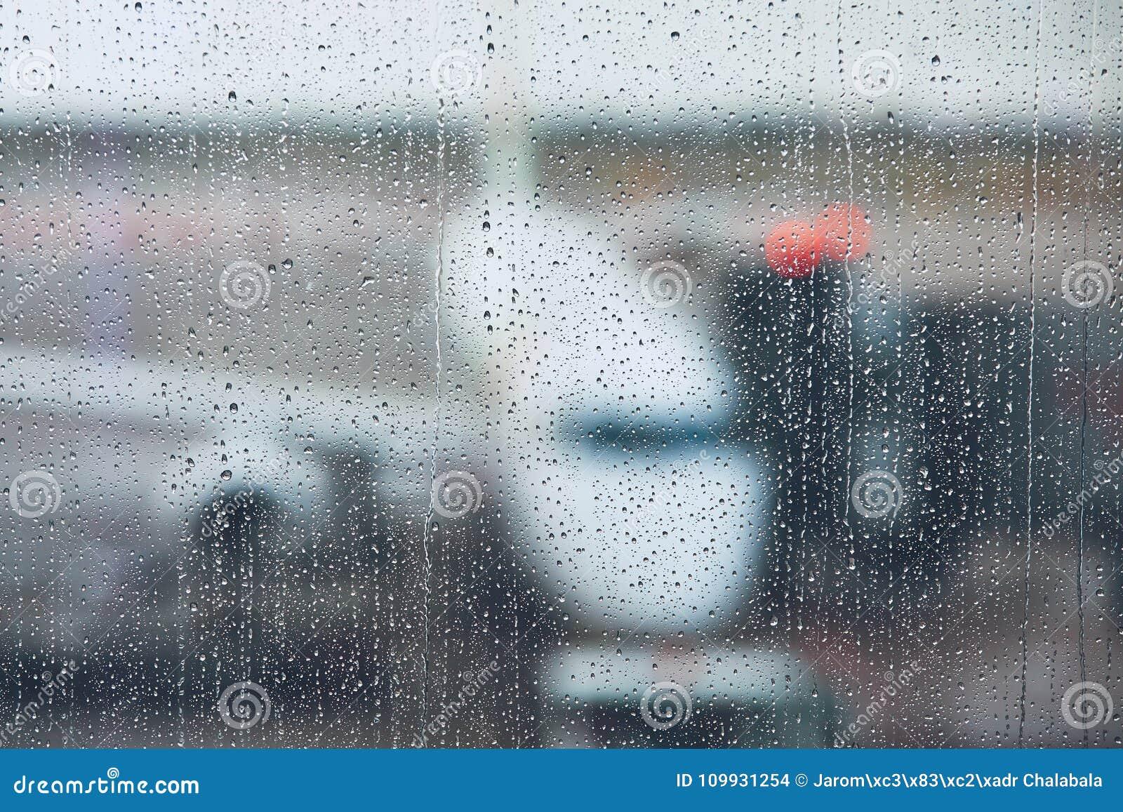 Tempestade no aeroporto