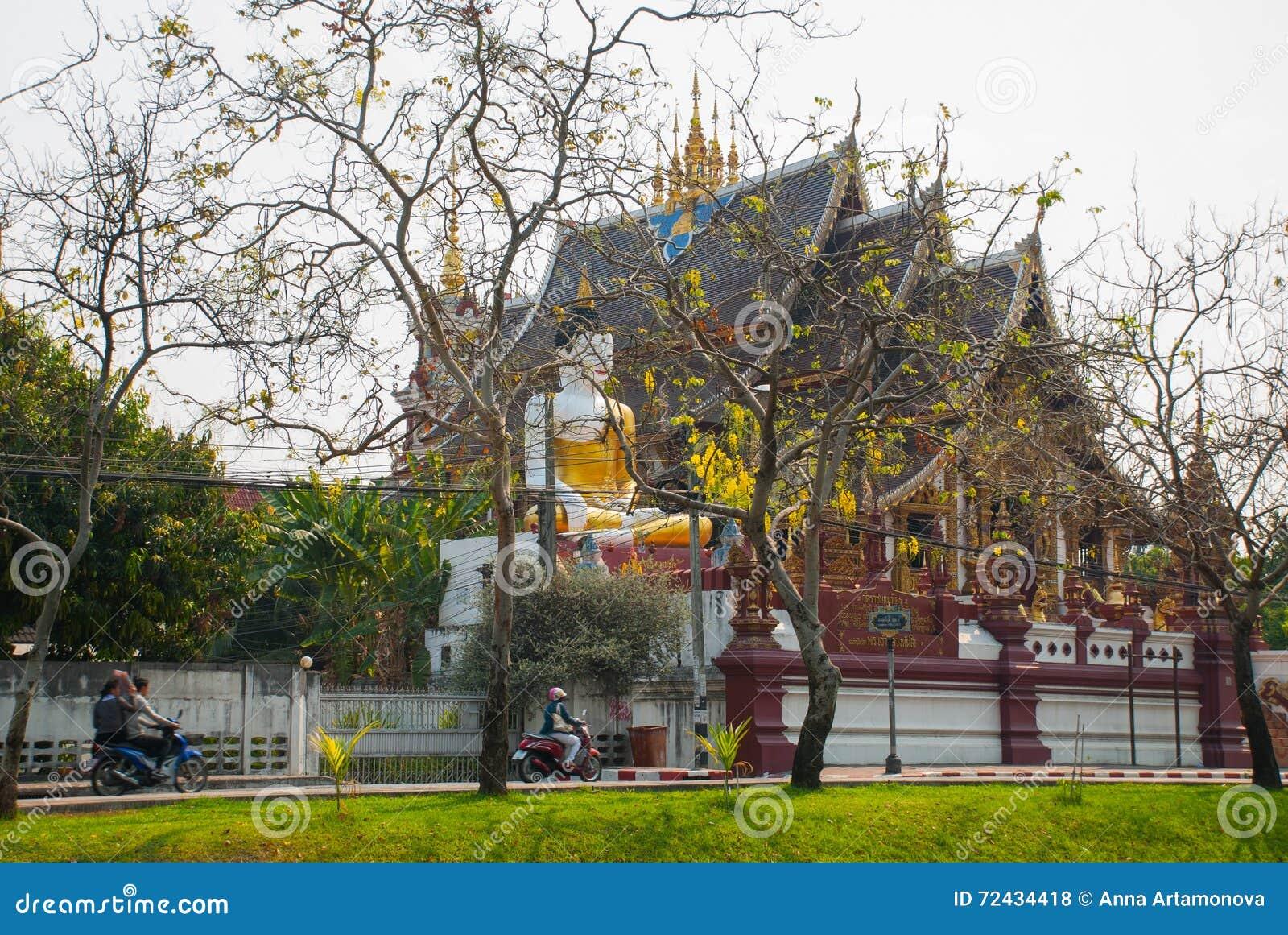 Tempiale della Tailandia Chiangmai