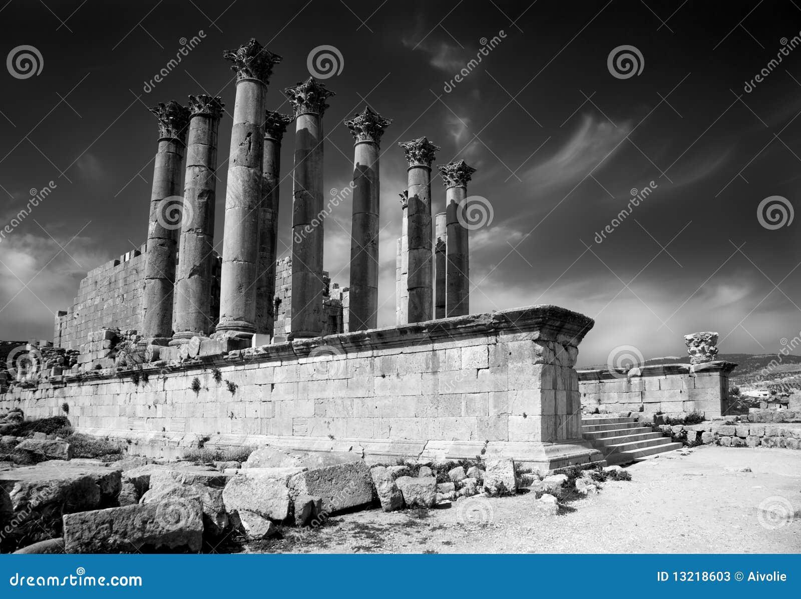 Tempiale di Artemis a Jerash