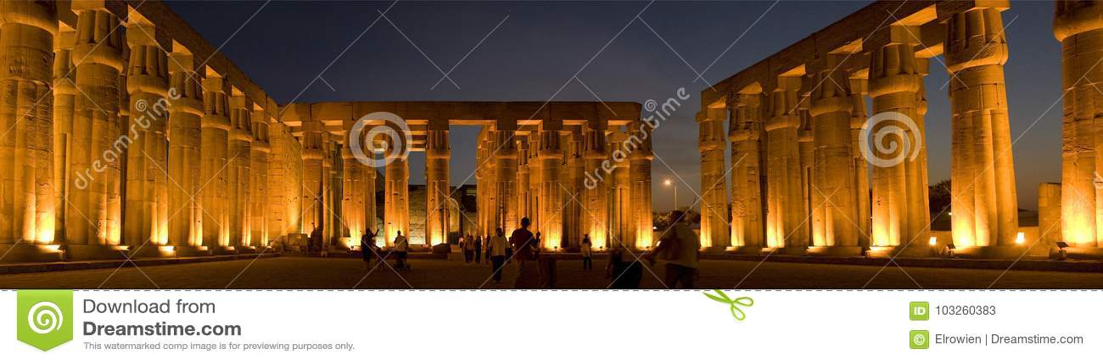 Tempiale di Luxor, Egitto