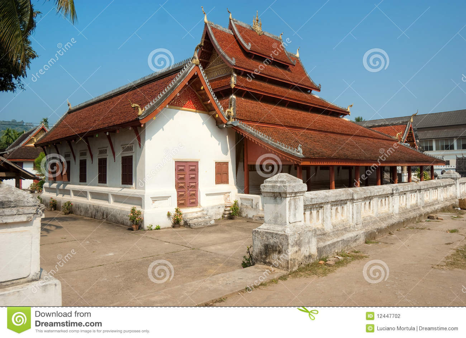 Tempiale in Luang Prabang, Laos.
