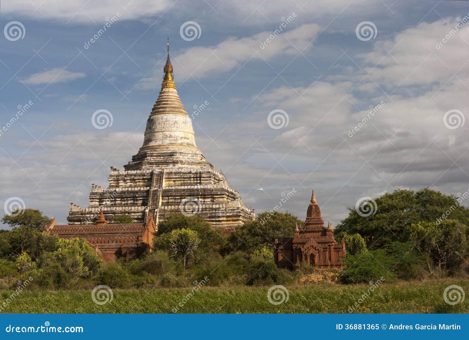 Download Tempie Antiche In Bagan, Myanmar Immagine Stock - Immagine di coltura, spirituality: 36881365