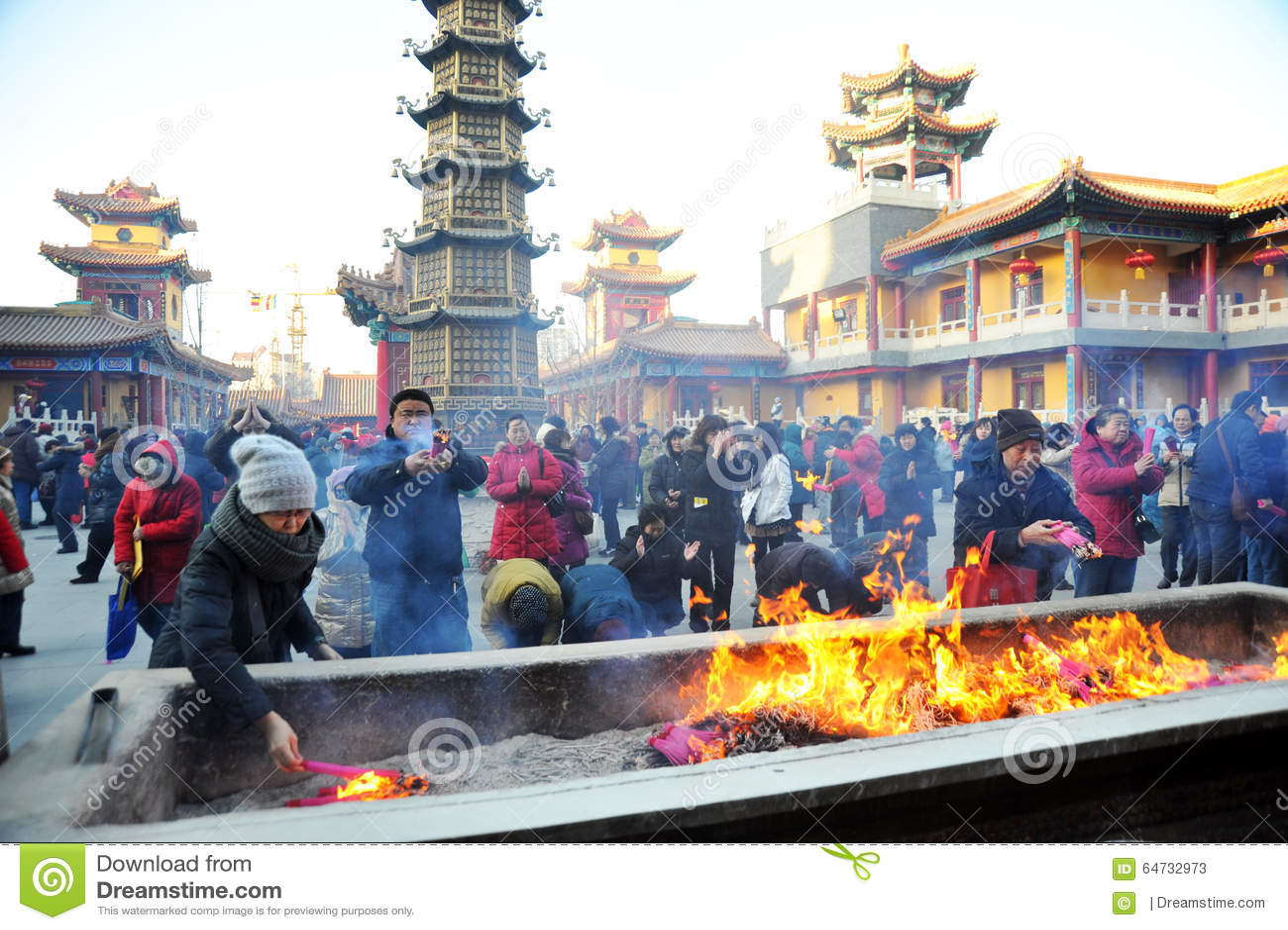 Tempio del guanyin di jianfu di Tientsin