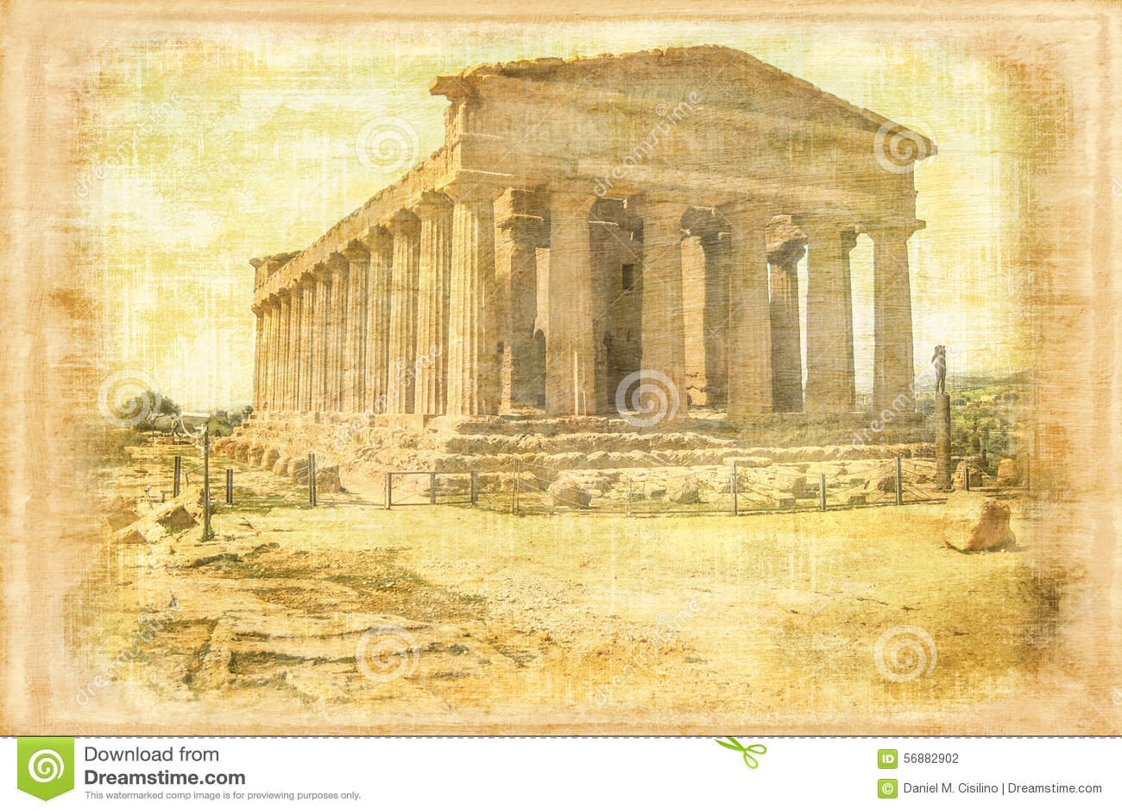 Tempio di accordo Agrigento L Italia
