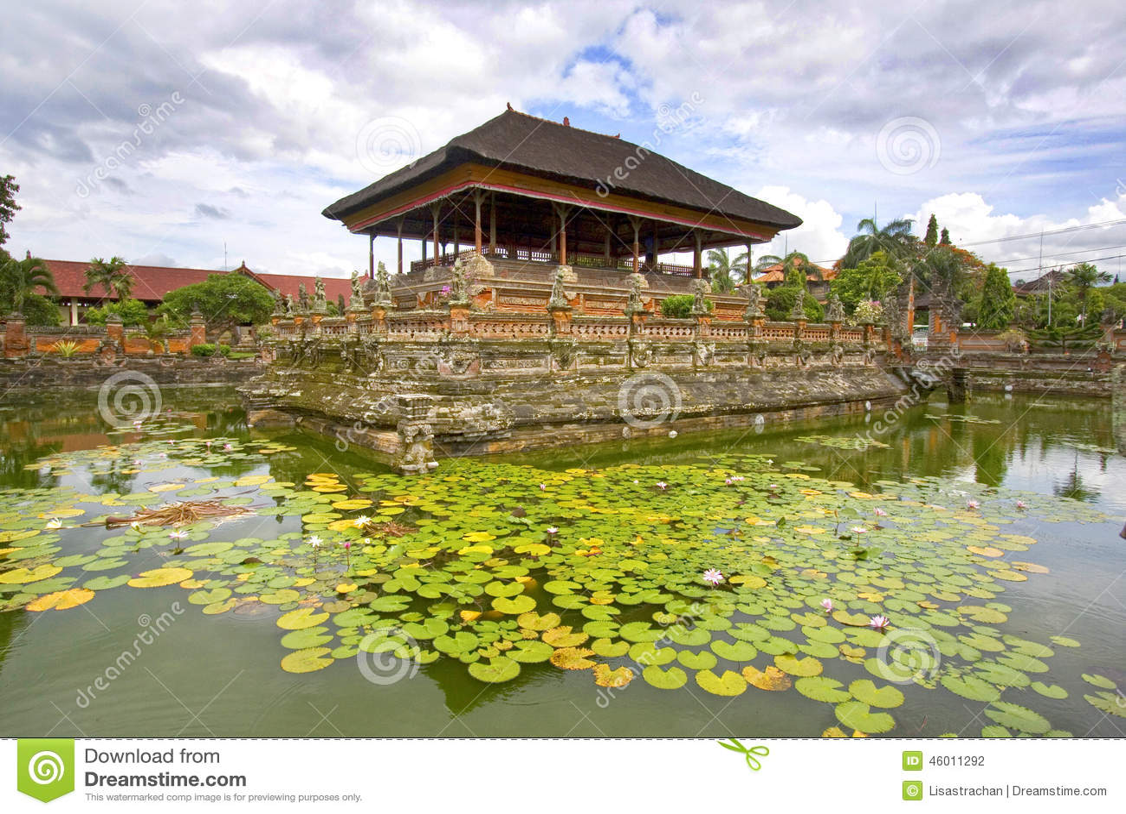 Tempio di balinese in Klung Kung, Semarapura, Bali, Indonesia