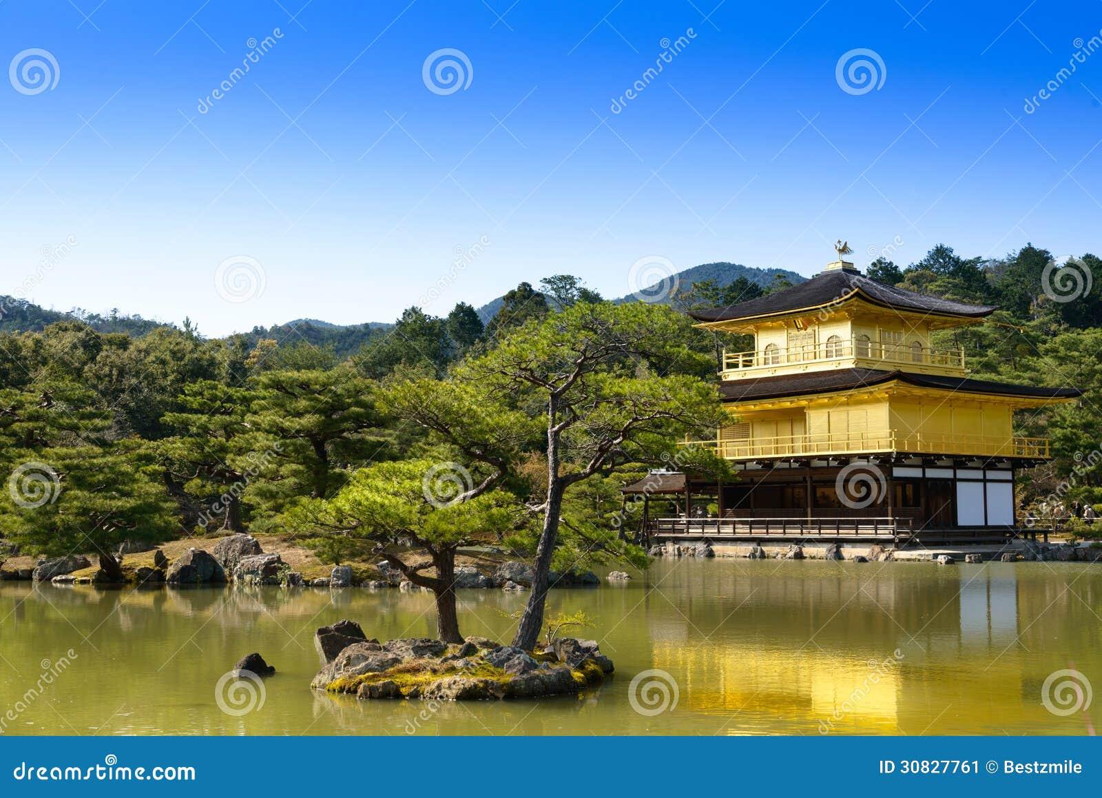 Tempio di Kinkakuji a Kyoto, Giappone