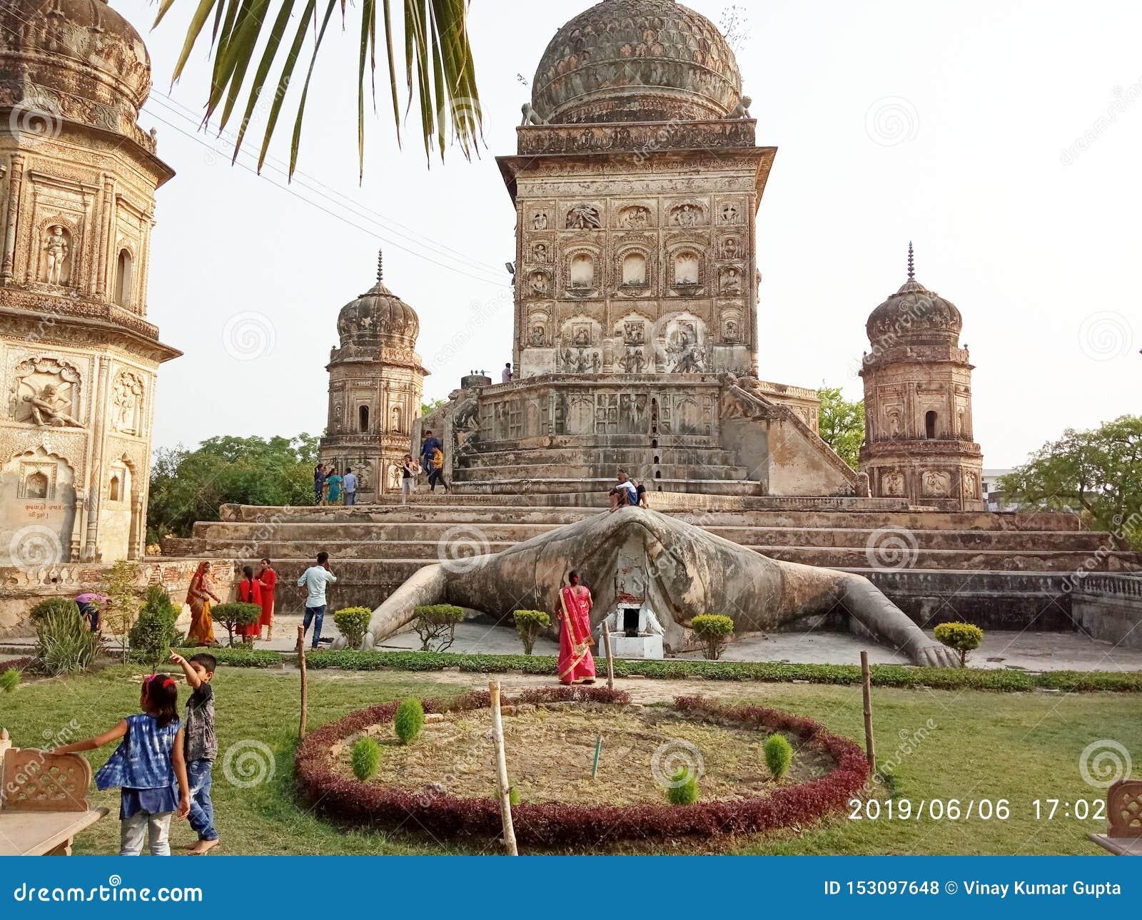 Tempio di Medak in kheri di Lakhimapur