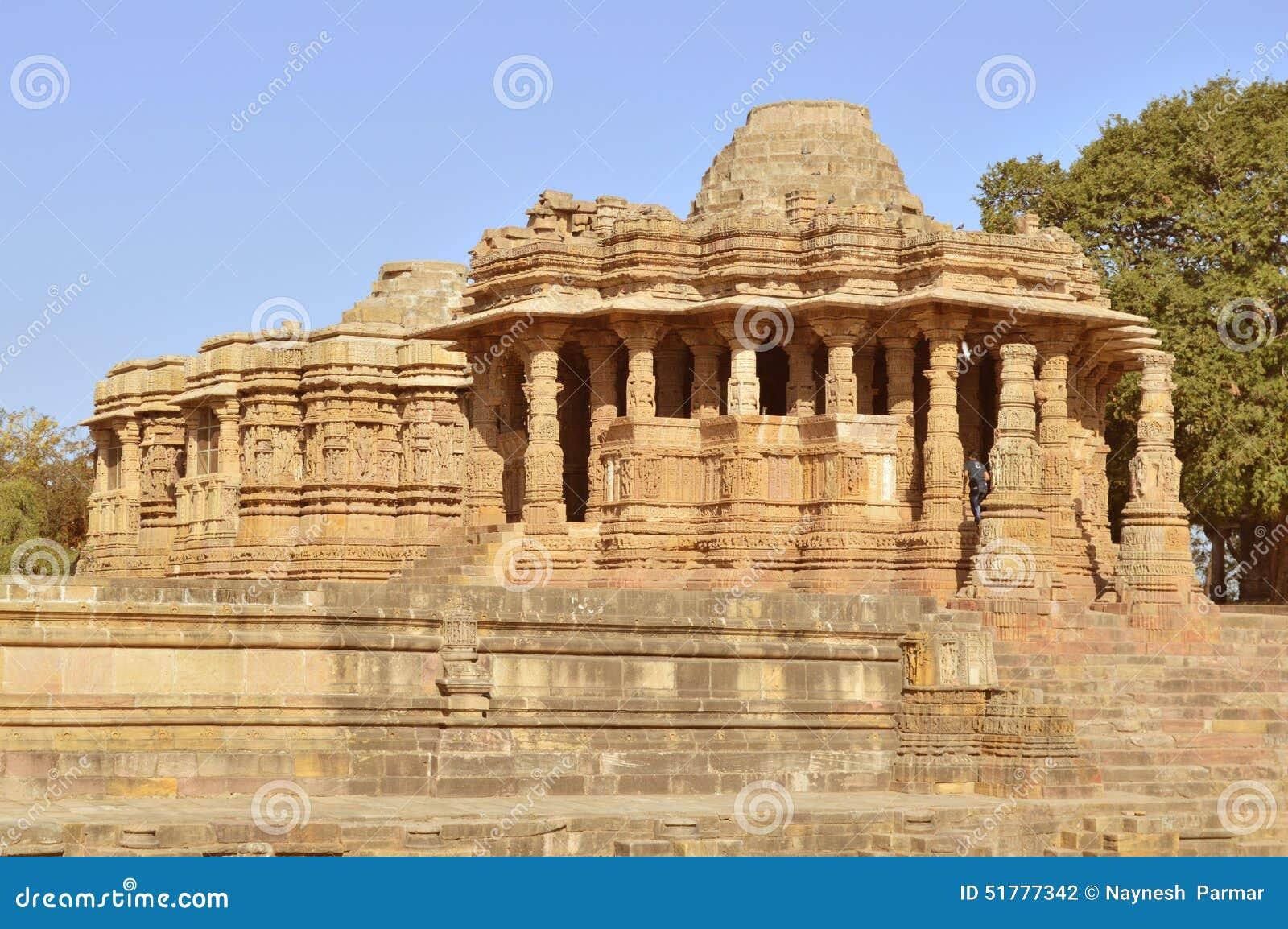 Tempio di Sun di Modhera, Gujarat