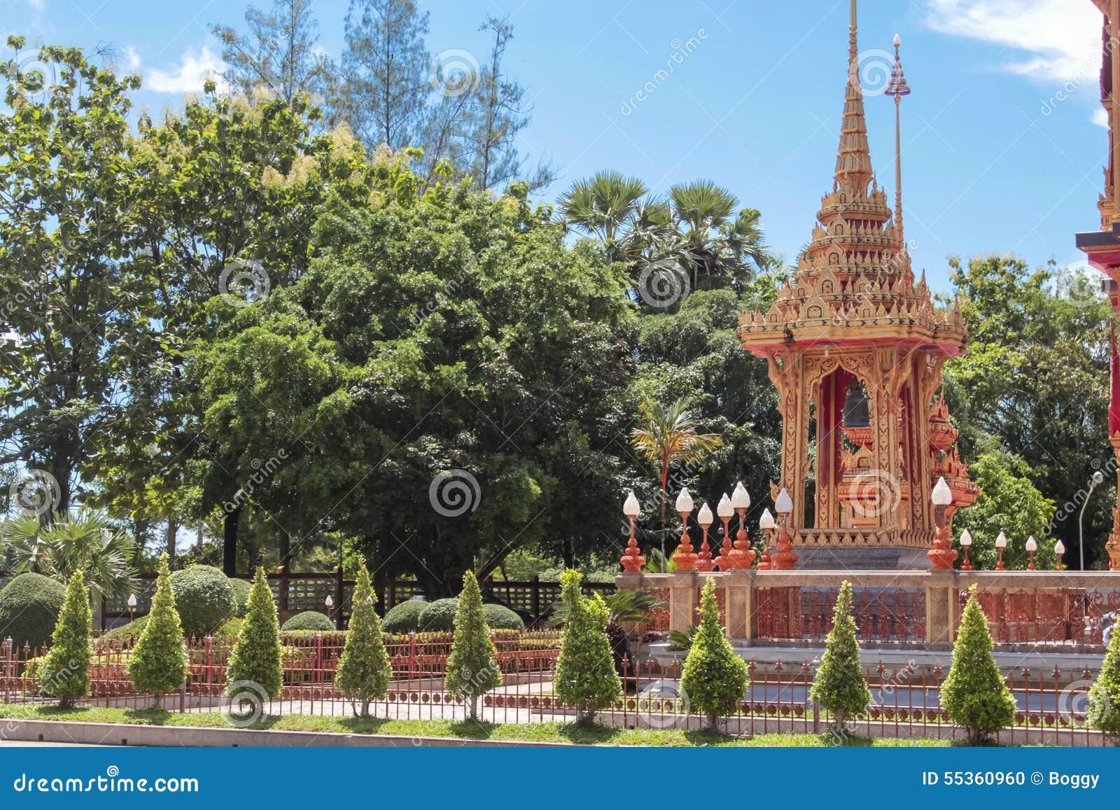 Tempio di Wat Chalong in Tailandia