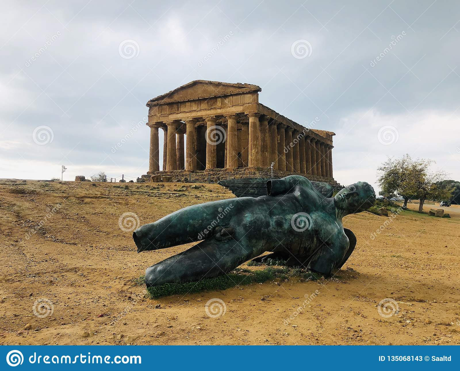 Tempio Grekland Agrigento