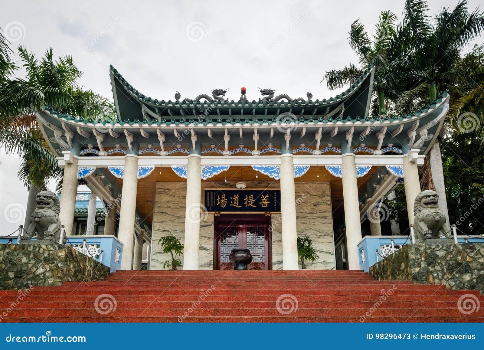 Tempio lungo di Hua in Davao - Filippine