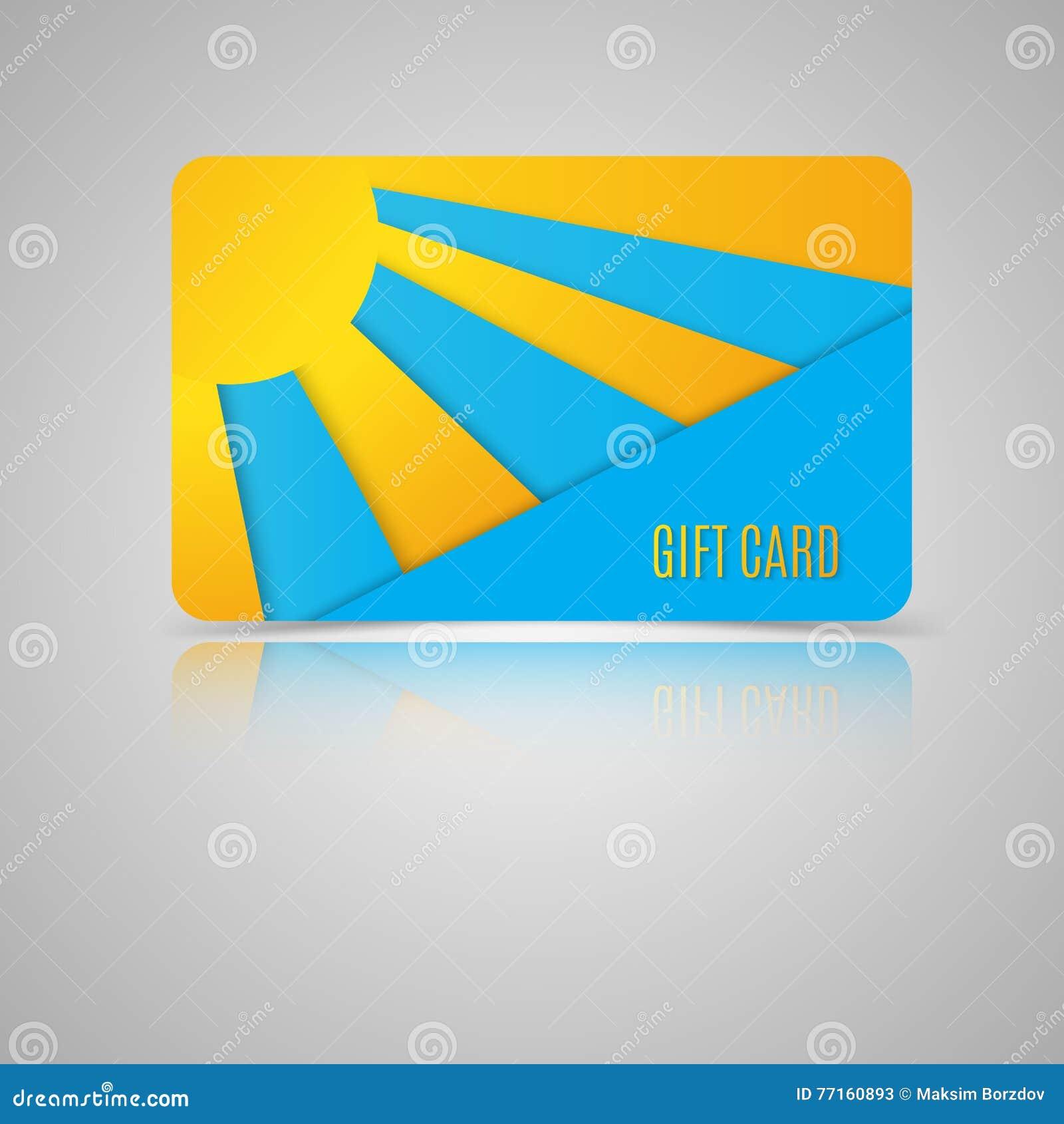 Templat de carte cadeaux