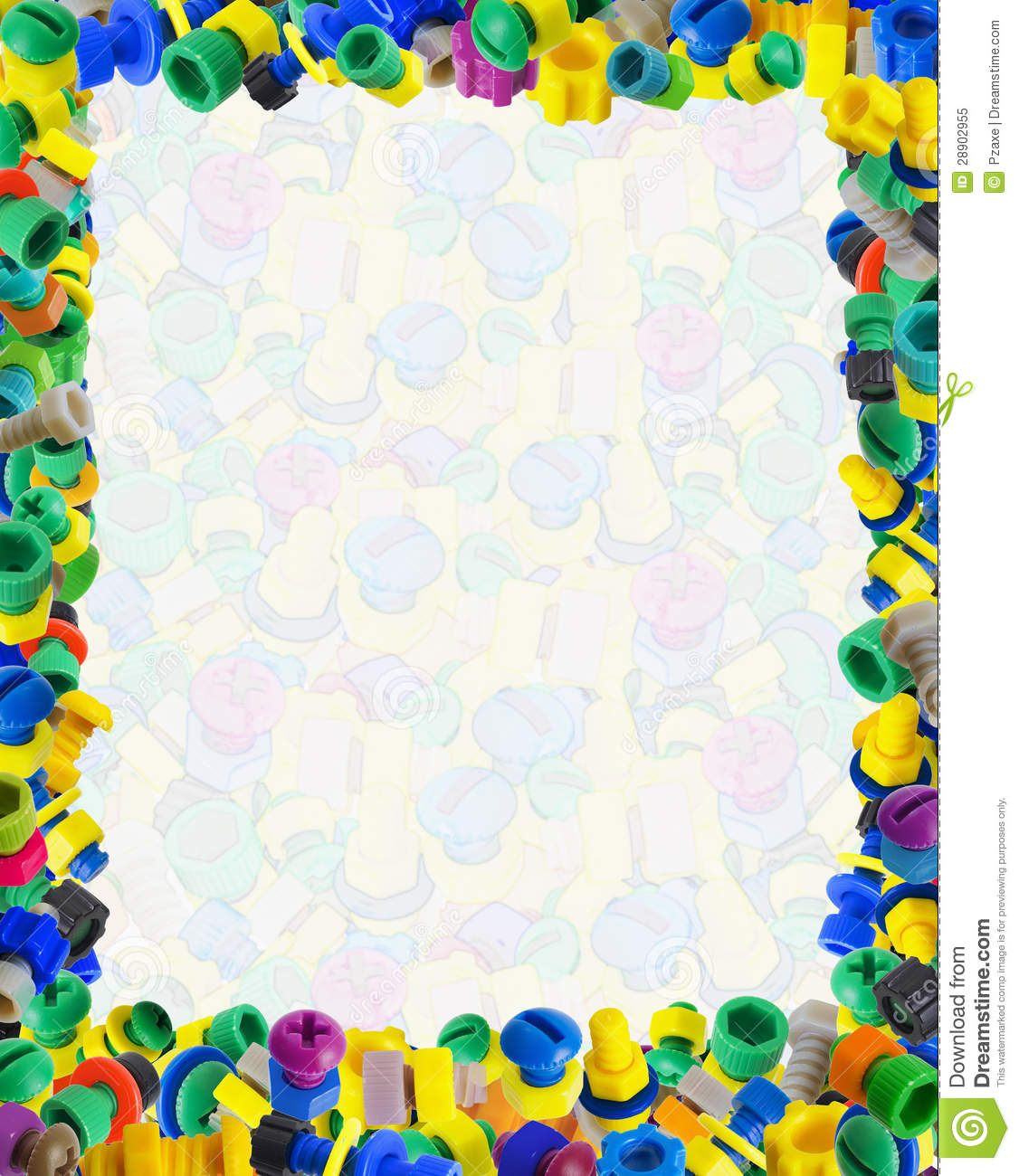 Template for baby comic certificate - color toys