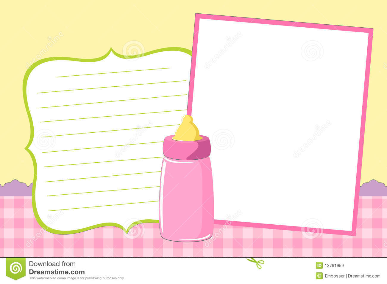 Template For Baby S Photo Album. Celebration, Card.  Free Album Templates