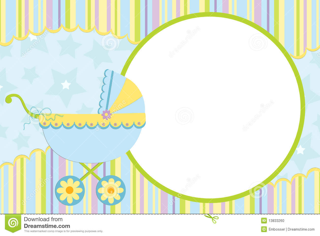 Template for baby 39 s photo album stock vector for S design photo