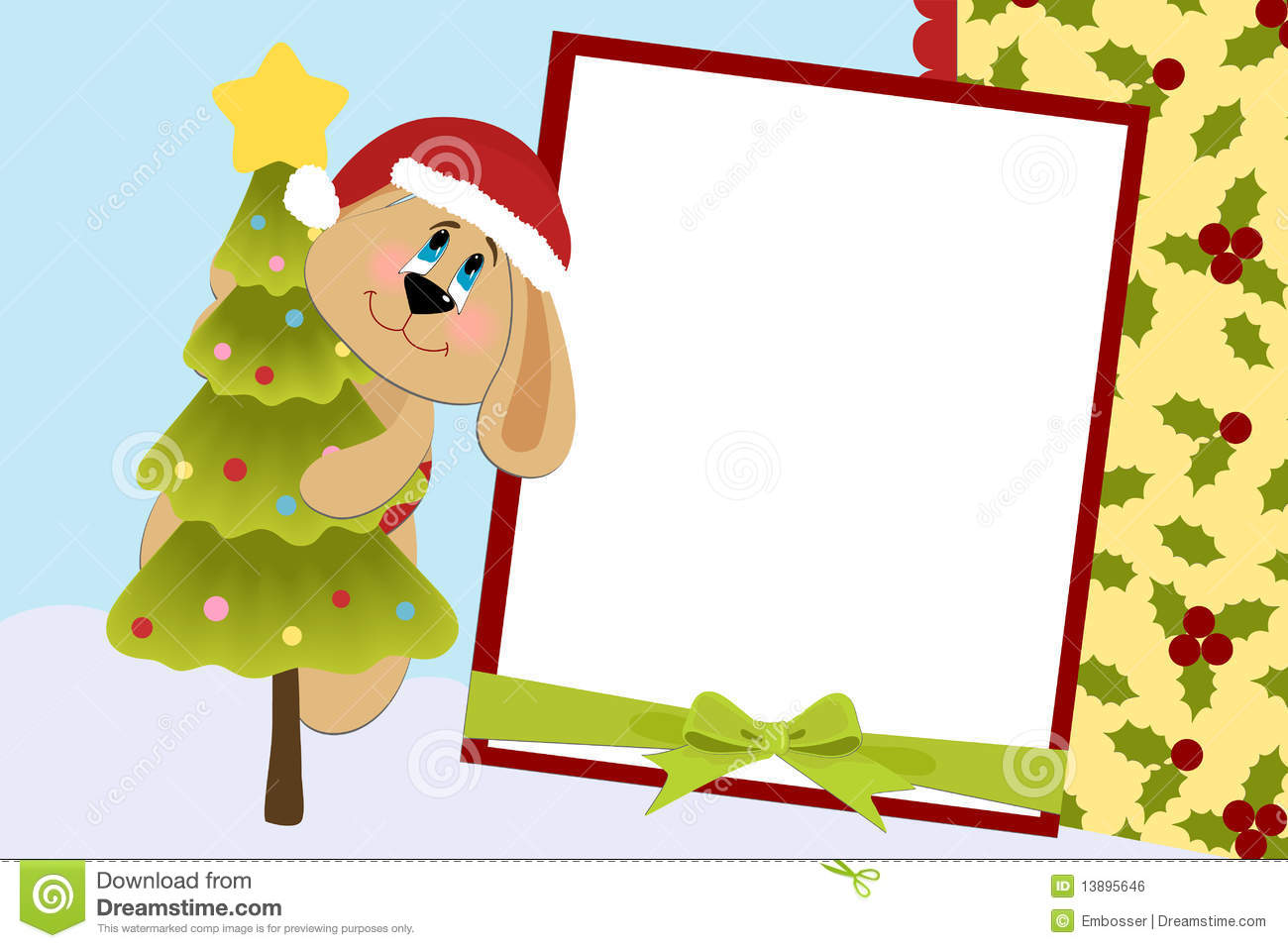 template for baby s xmas photo album royalty stock image template for baby s xmas photo album royalty stock image