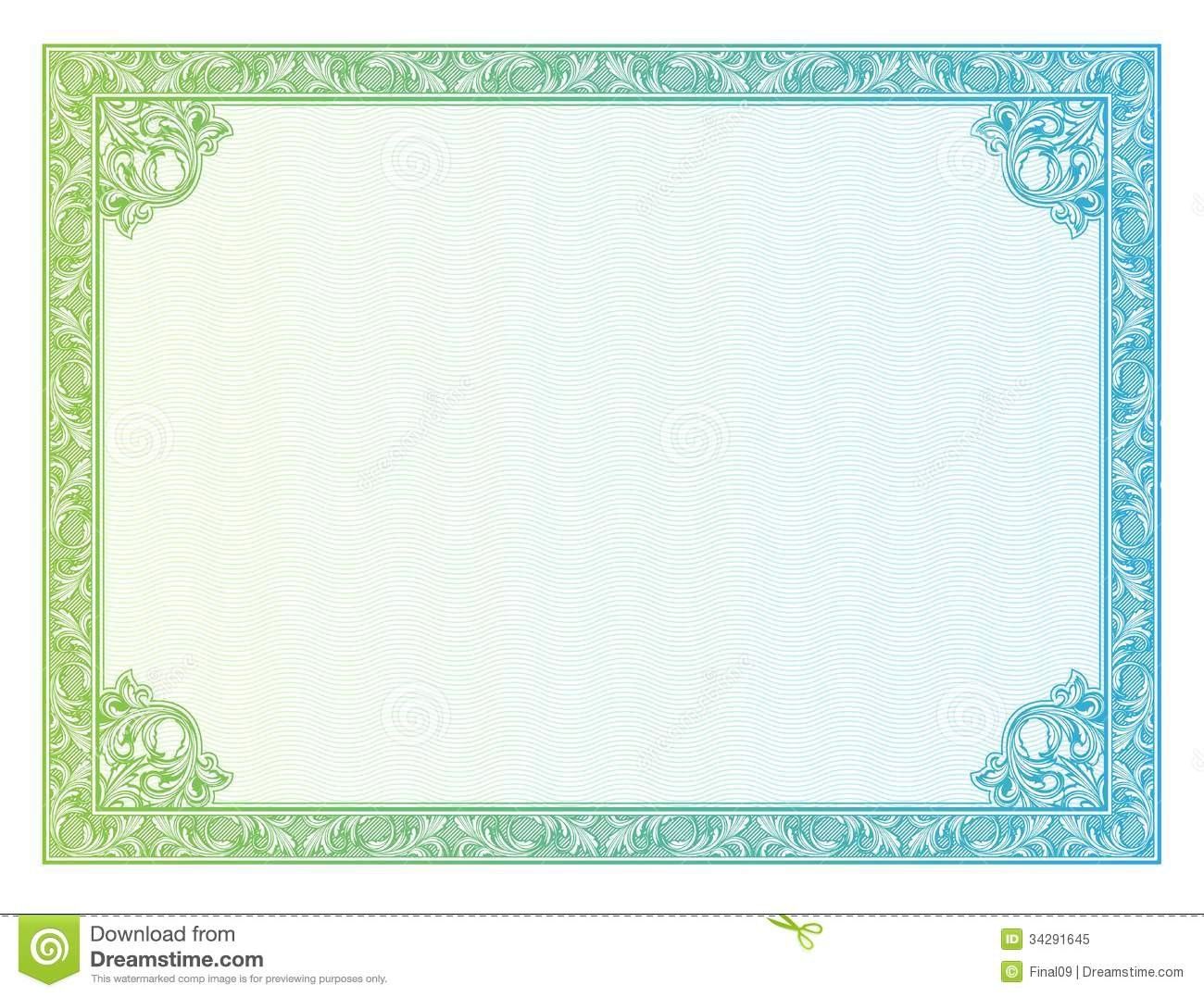 Template Border Diplomas Certificate Royalty Free Photo – Certificate Borders Free Download