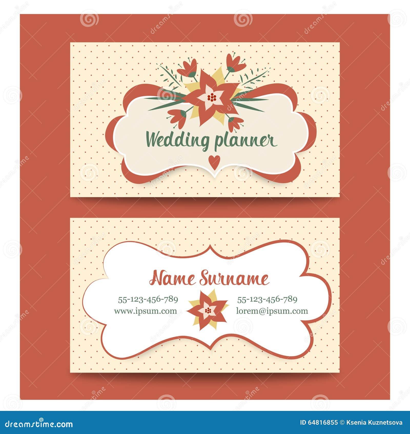 Wedding business card template mandegarfo wedding business card template cheaphphosting Gallery