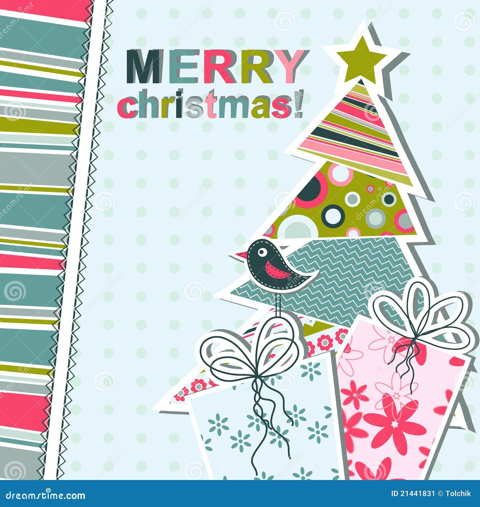 template christmas greeting card stock image image 21441831