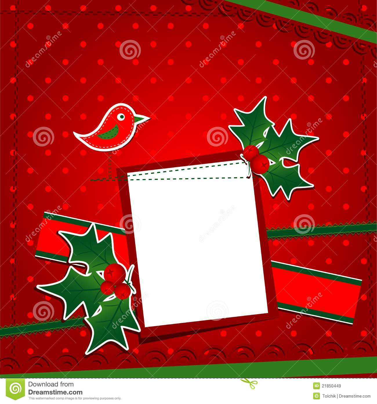 Template Christmas Greeting Card Royalty Free Stock Images   Image 3l1Z7Zgq
