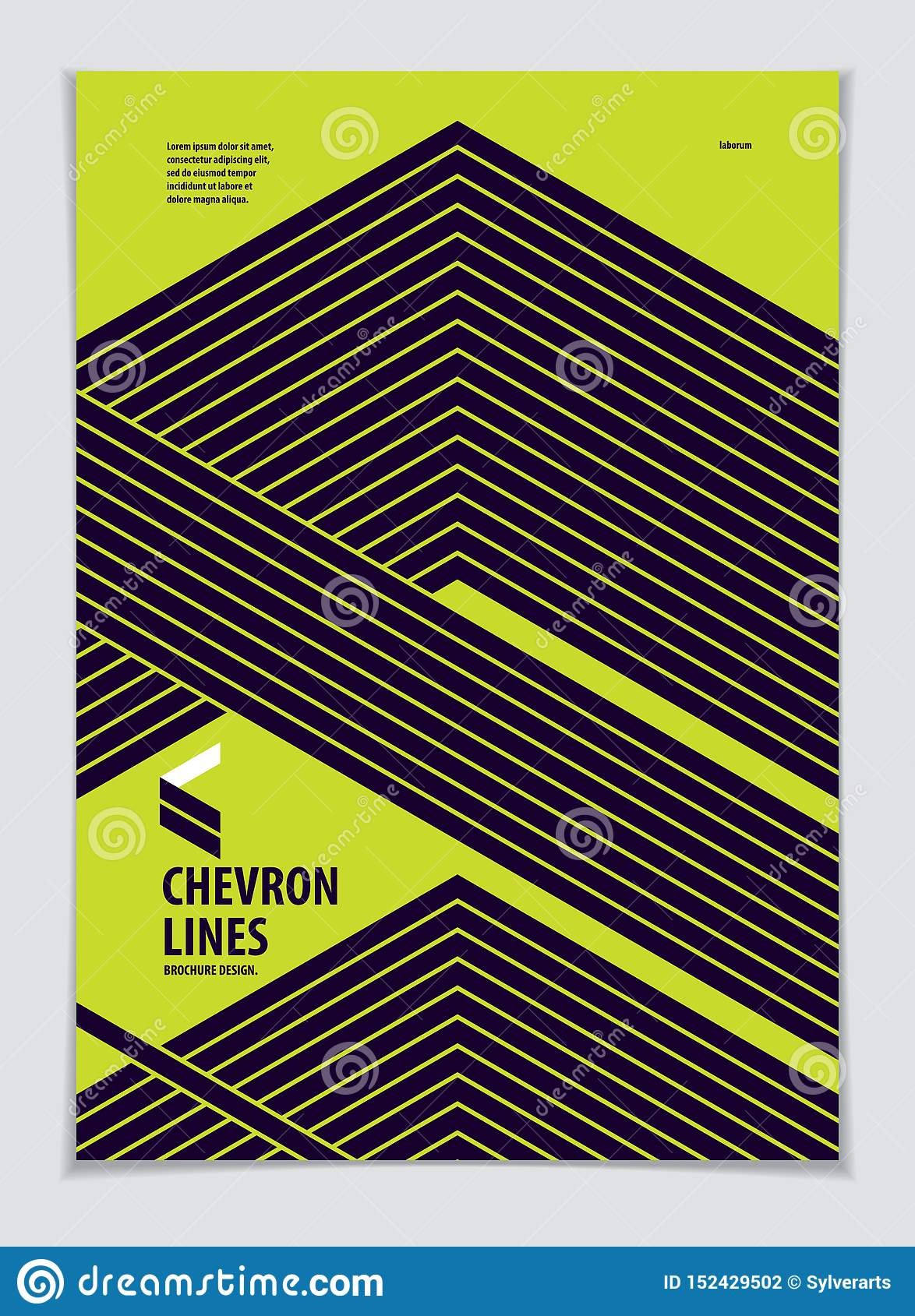 Template for Cover, Placard, Poster, Flyer and Banner Design. Cool geometric vector line background for your design. Minimalistic