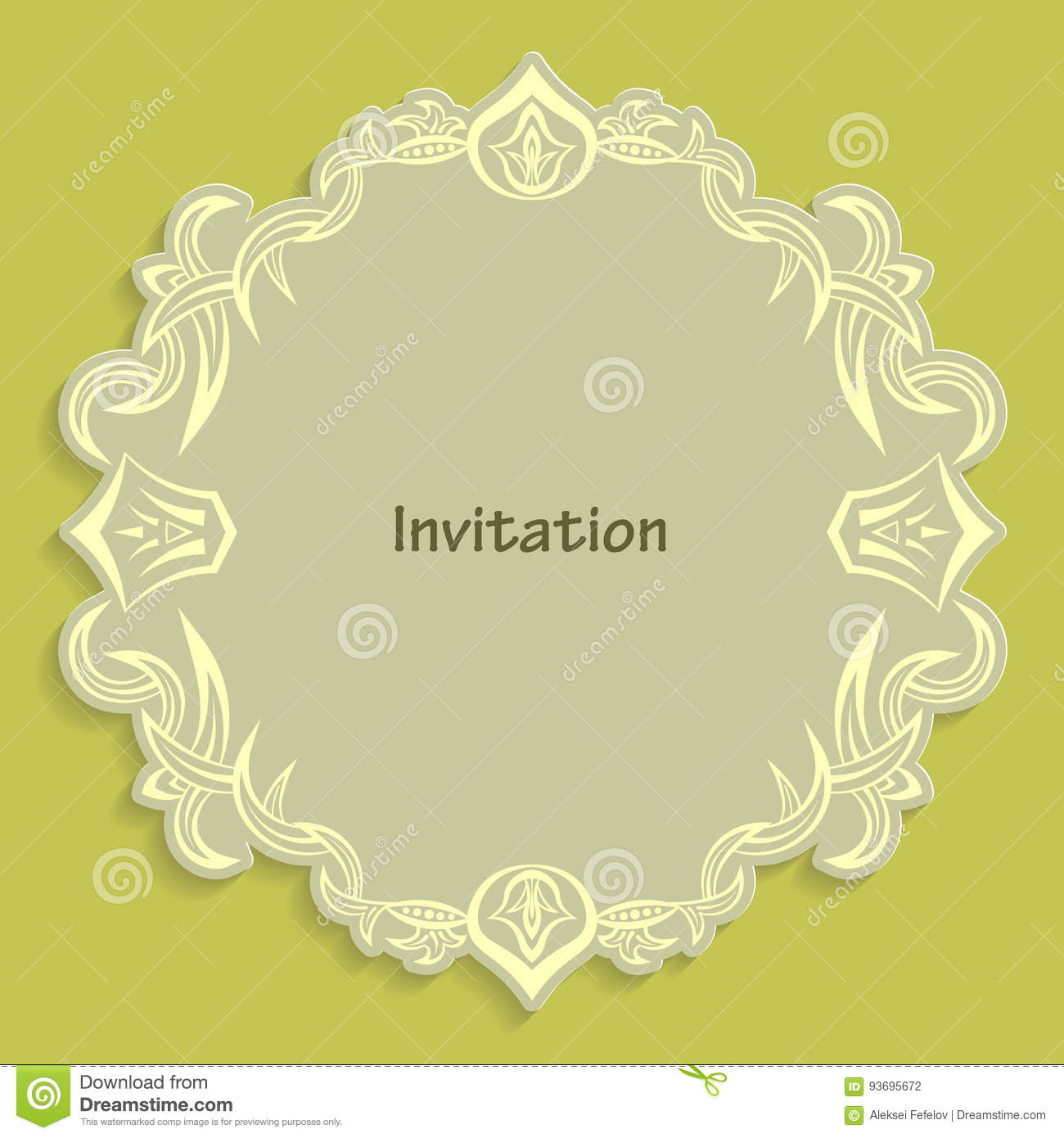 Template cut out of paper cards with kaligraficheskim gold pattern download template cut out of paper cards with kaligraficheskim gold pattern design a wedding invitation stopboris Images