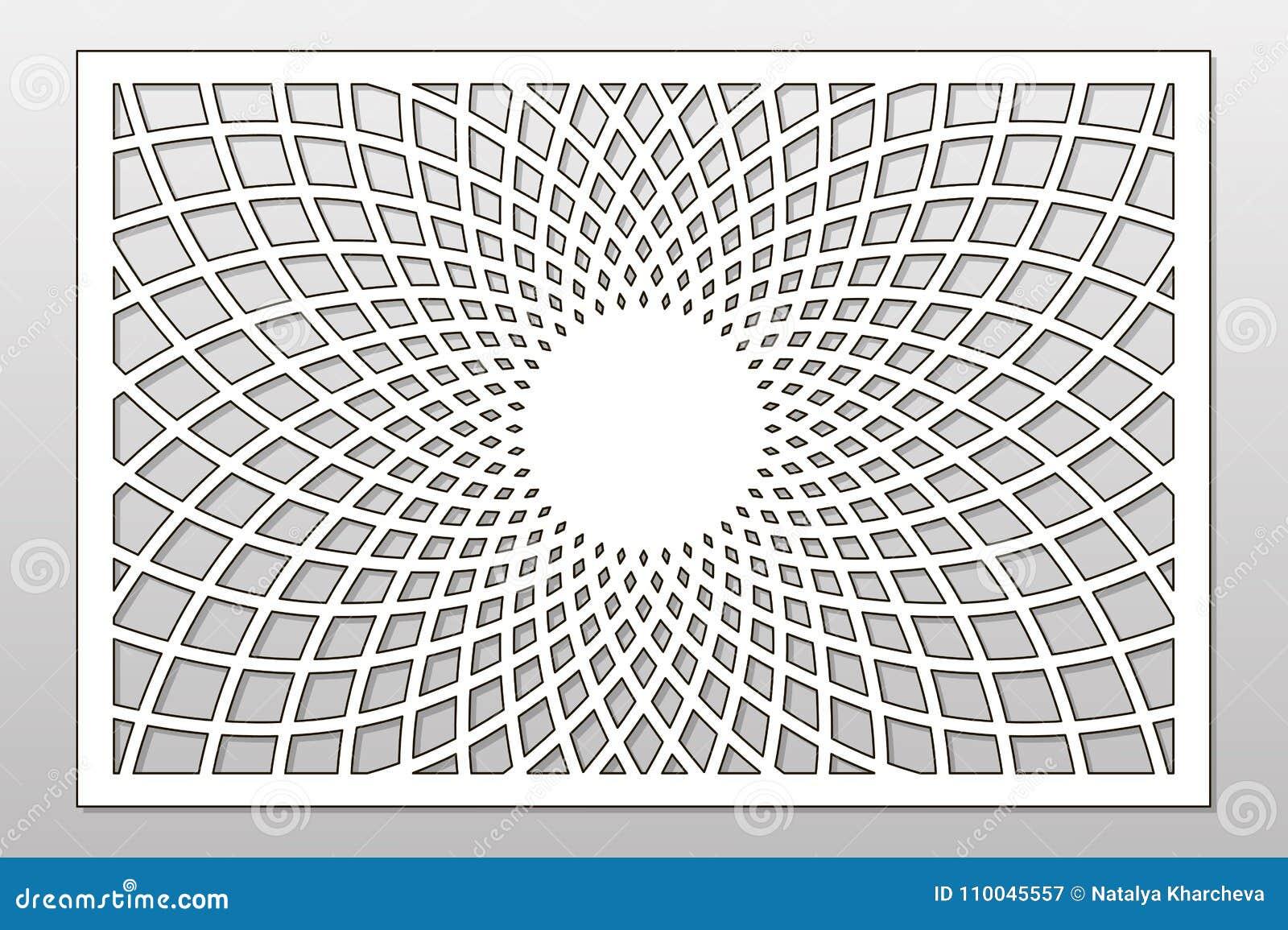 Template For Cutting Mandala Arabesque Pattern Laser Cut Rat