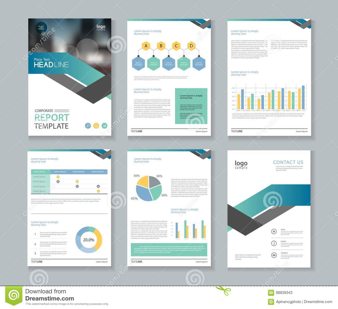8ad3a4912 Template Design For Company Profile