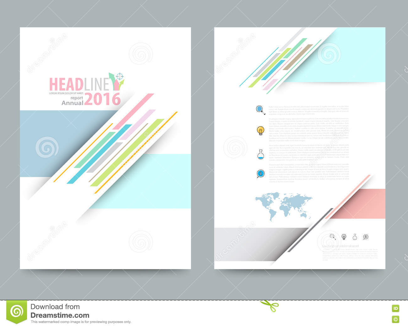 template design infographics graphic