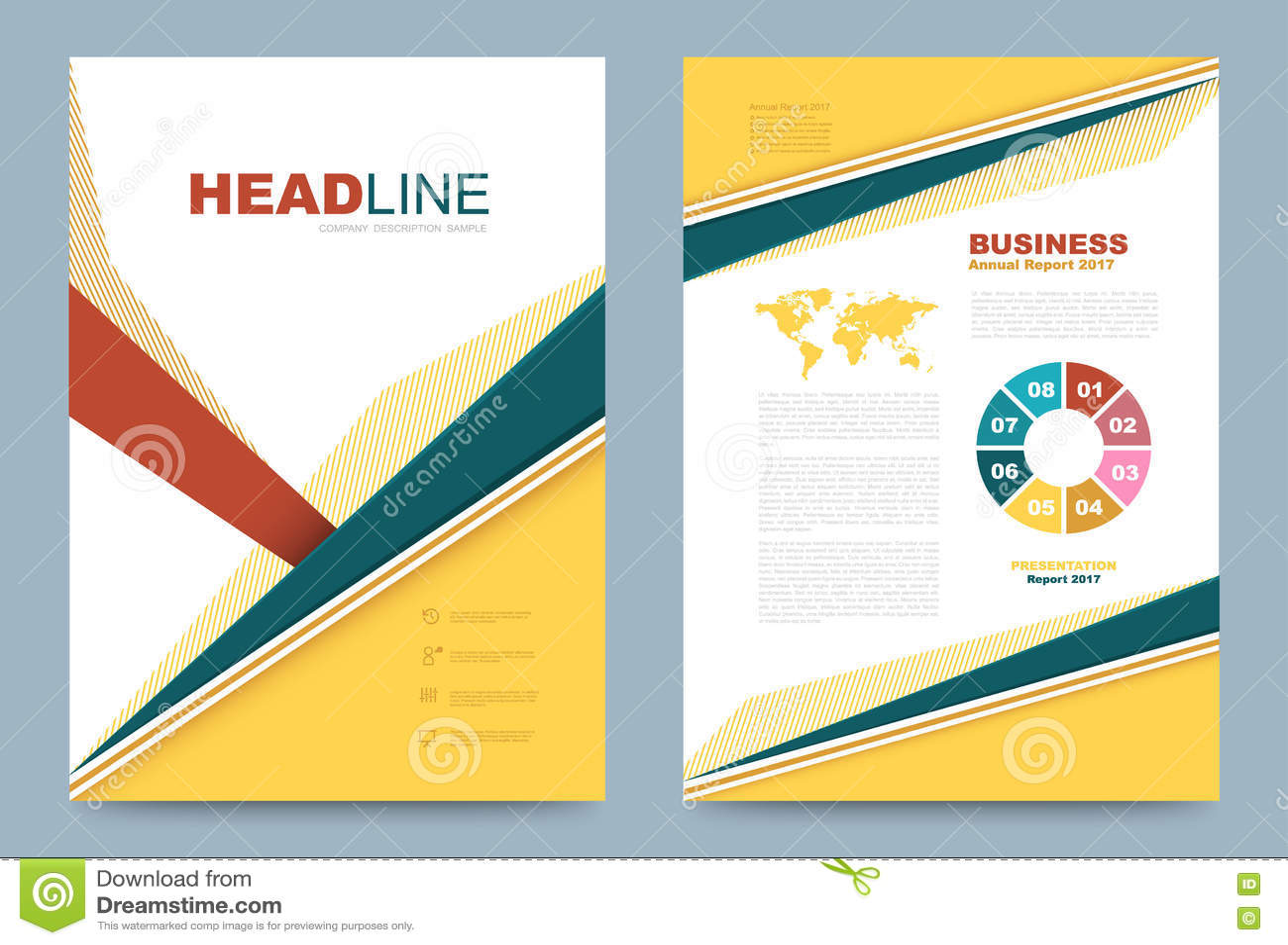 printing press brochure template - template design stock vector image 74353631