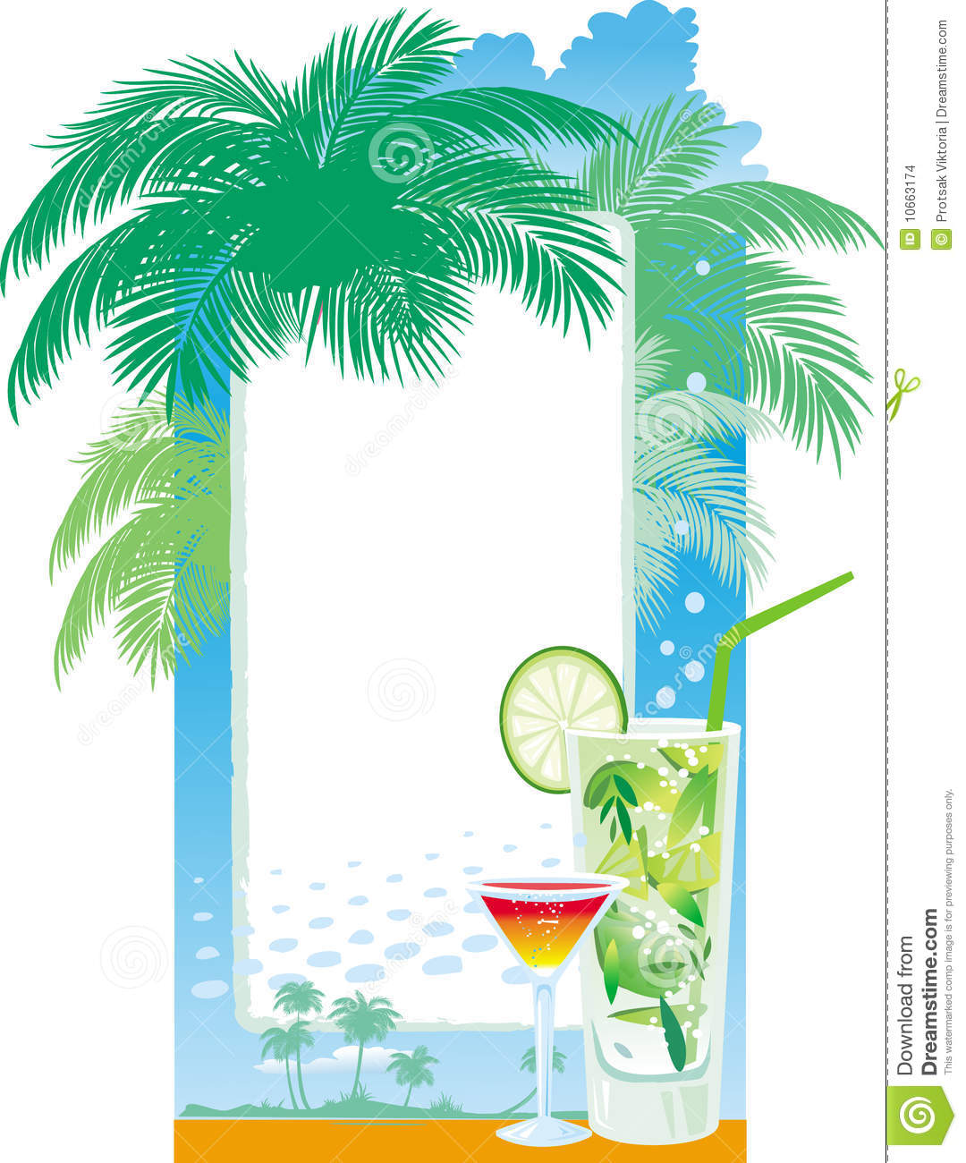 Template Designs Of Cocktail Menu Stock Images Image