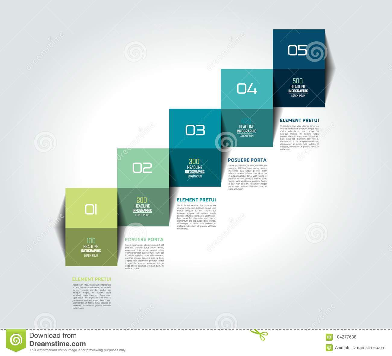 template diagram chart timeline infographic staircase step