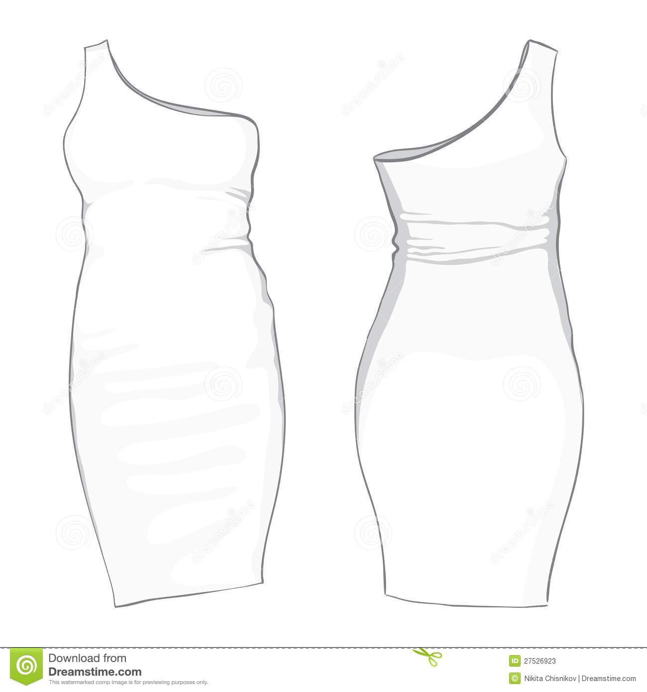 Template Dress Stock Photos - Image: 27526923