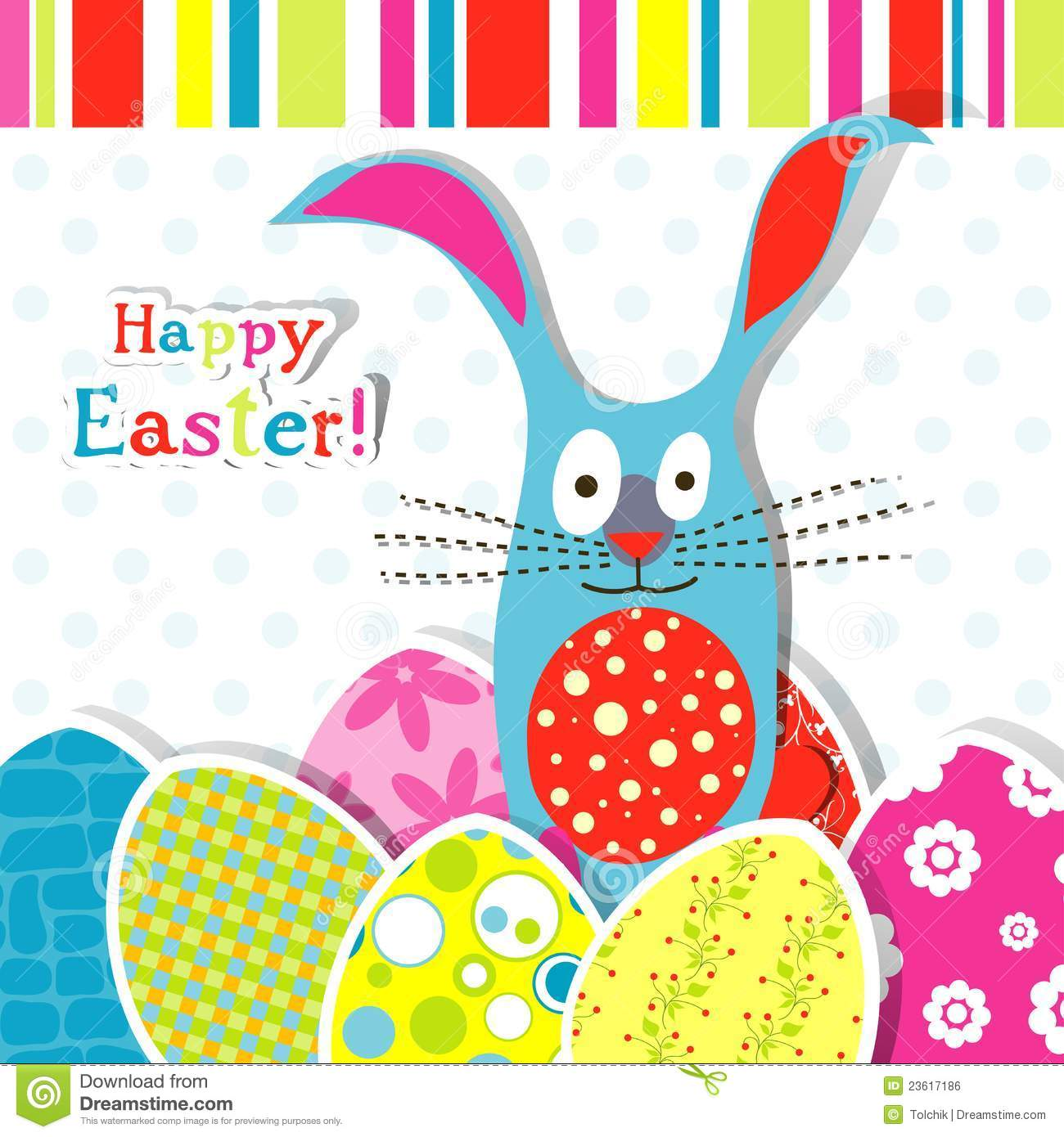 Template Greeting Card Royalty Free Stock Image: Template Easter Greeting Card Royalty Free Stock Image