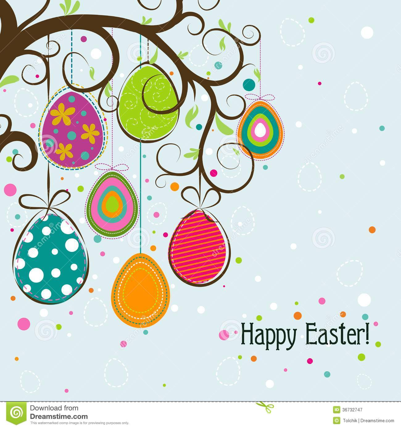 Template Easter Greeting Card Vector Royalty Free – Easter Greeting Card Template