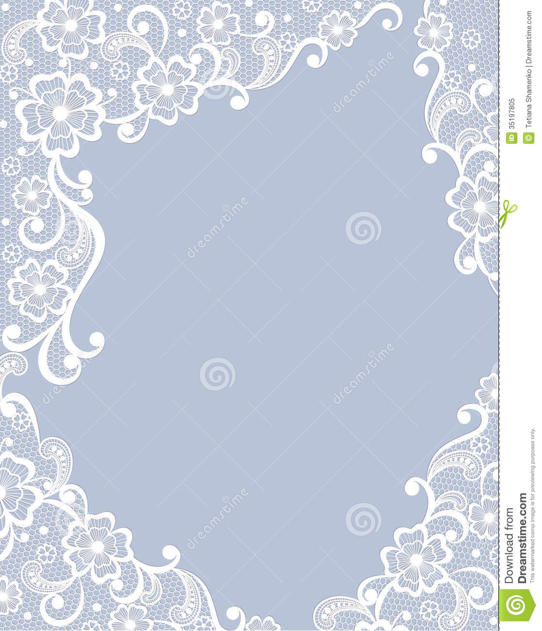 Template Greeting Card Royalty Free Stock Image: Template Frame Design For Card. Royalty Free Stock Photo