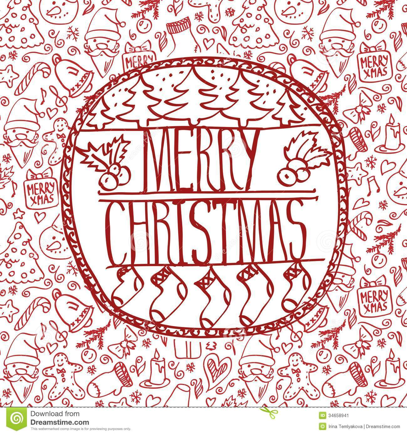 template frame design for xmas card stock image image  template frame design for xmas card